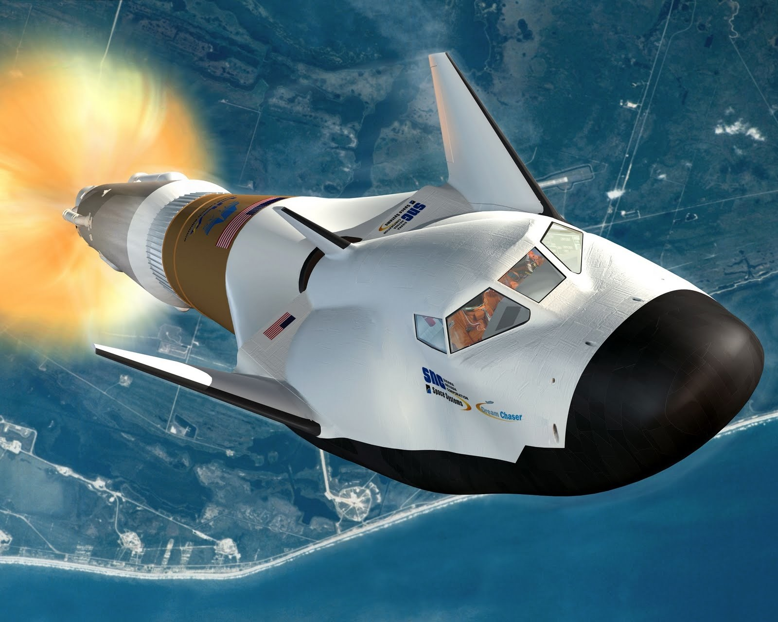 Astronaut-Transporting 'Dream Chaser' Spacecraft Preps for First ...