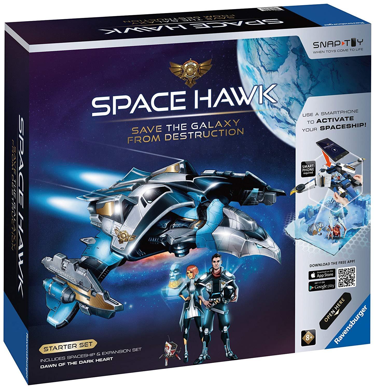 Amazon.com: Ravensburger Space Hawk Starter Set Includes Spacehip ...