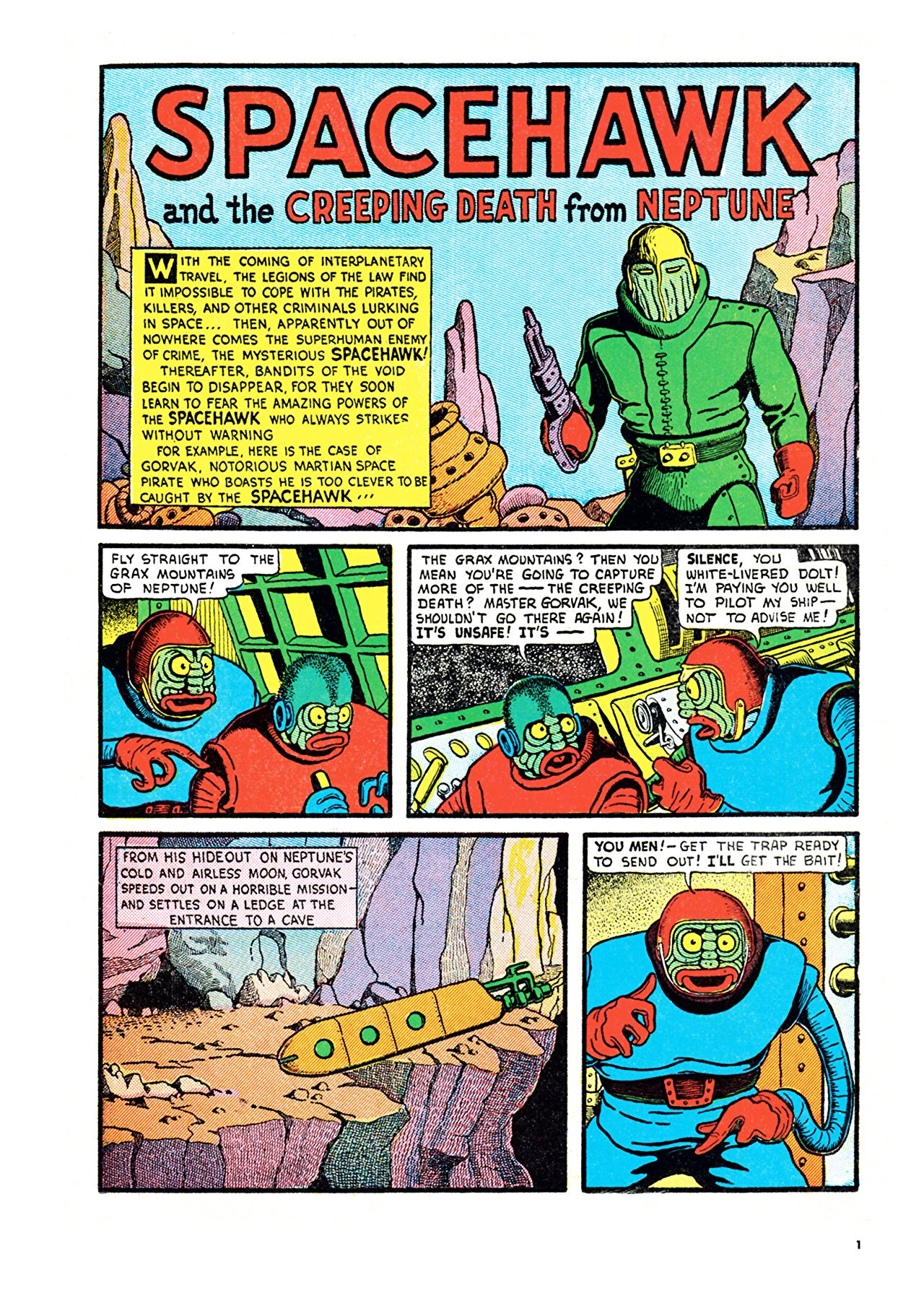 Spacehawk - Comics by comiXology