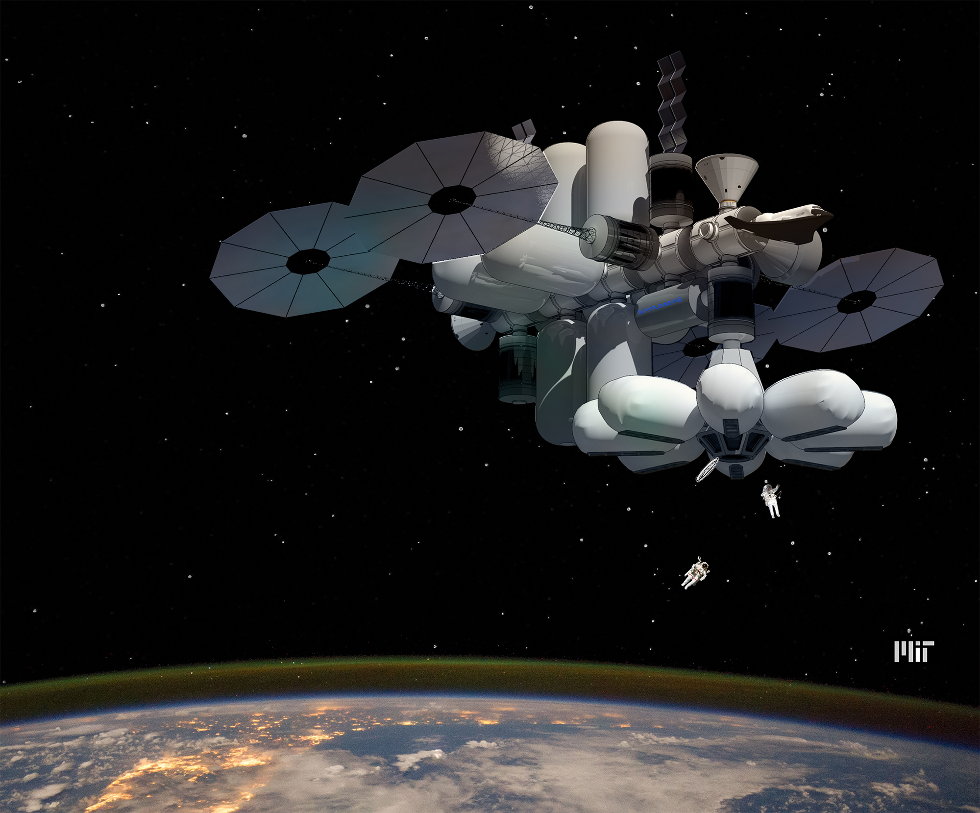 MIT space hotel wins NASA graduate design competition | MIT News