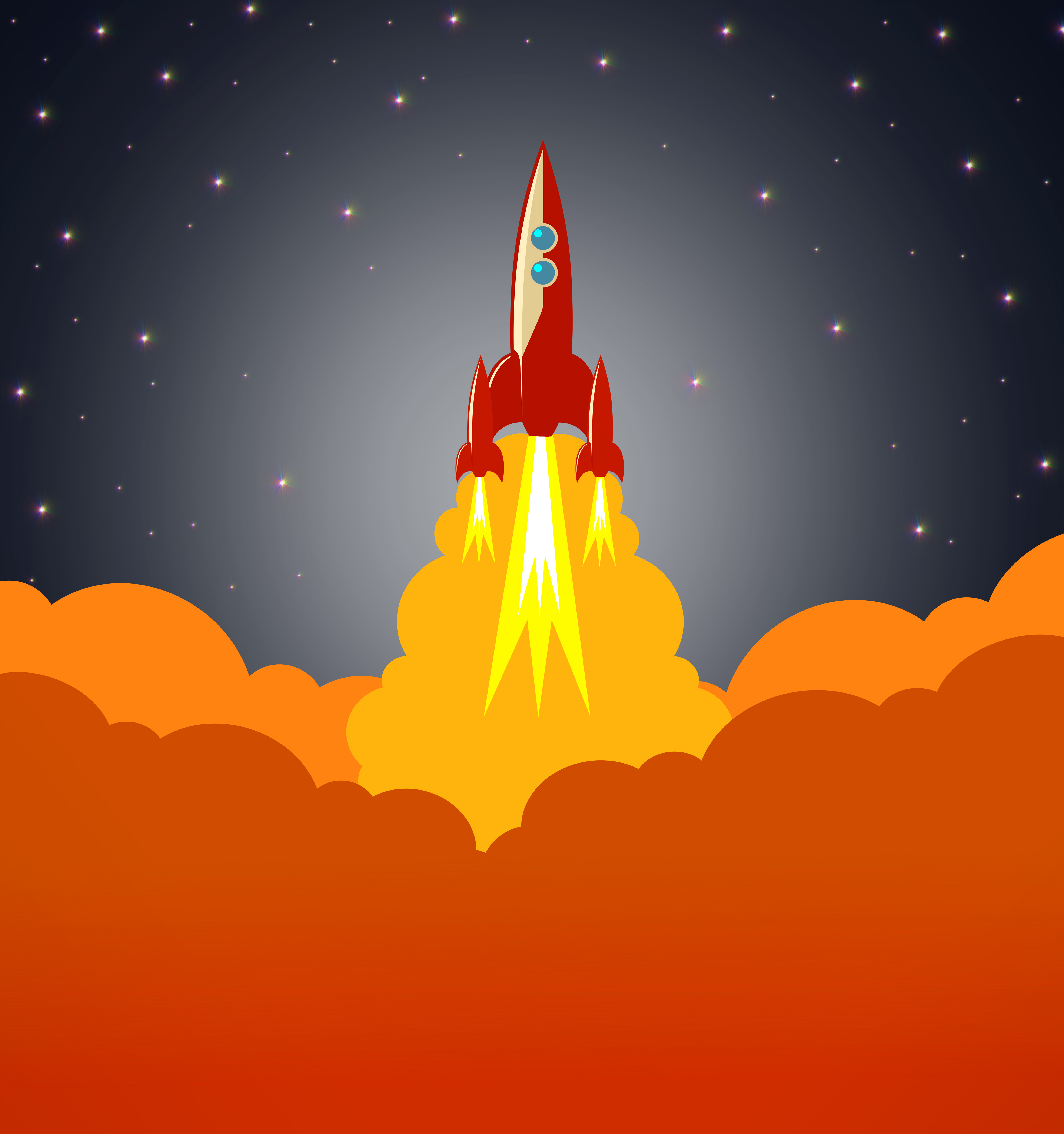 Space rocket launching, Rocket, Sky, Sign, Shuttle, HQ Photo