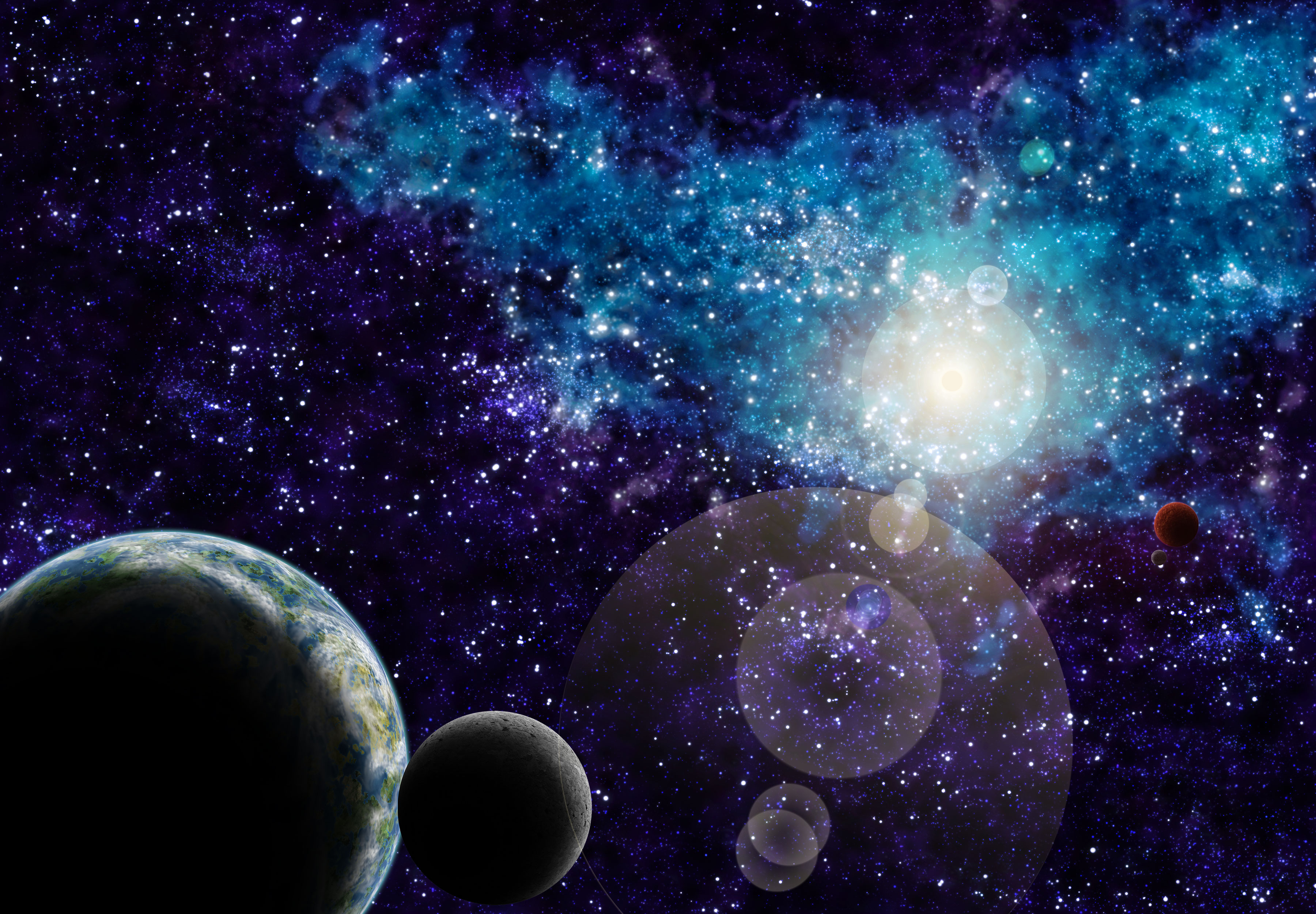 space scene by trismugistus on DeviantArt