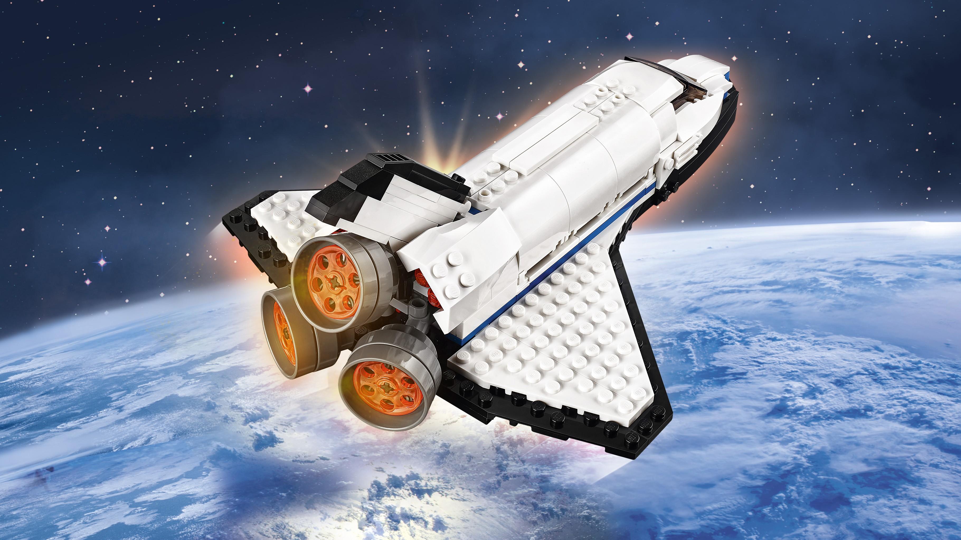 LEGO Creator Space Shuttle Explorer 31066 | Toyworld