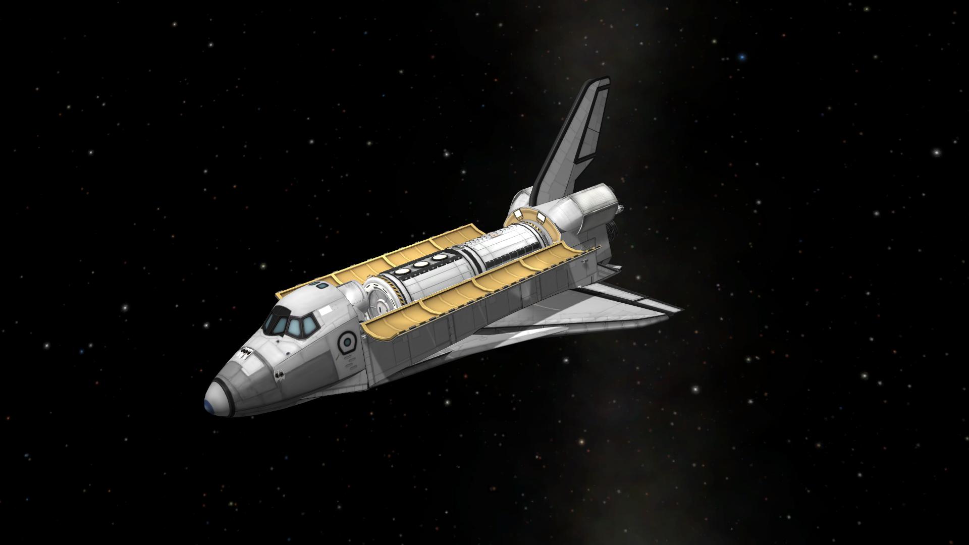 KerbalX - Stock Space Shuttle