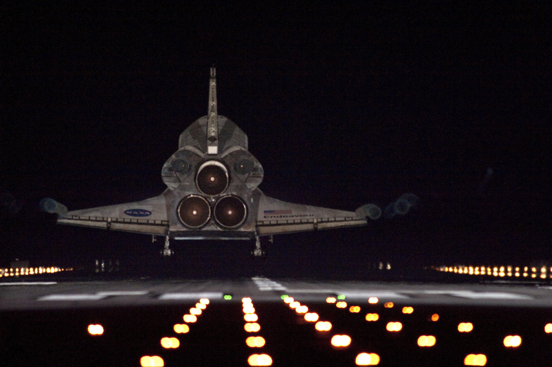 Space shuttle endeavour photo