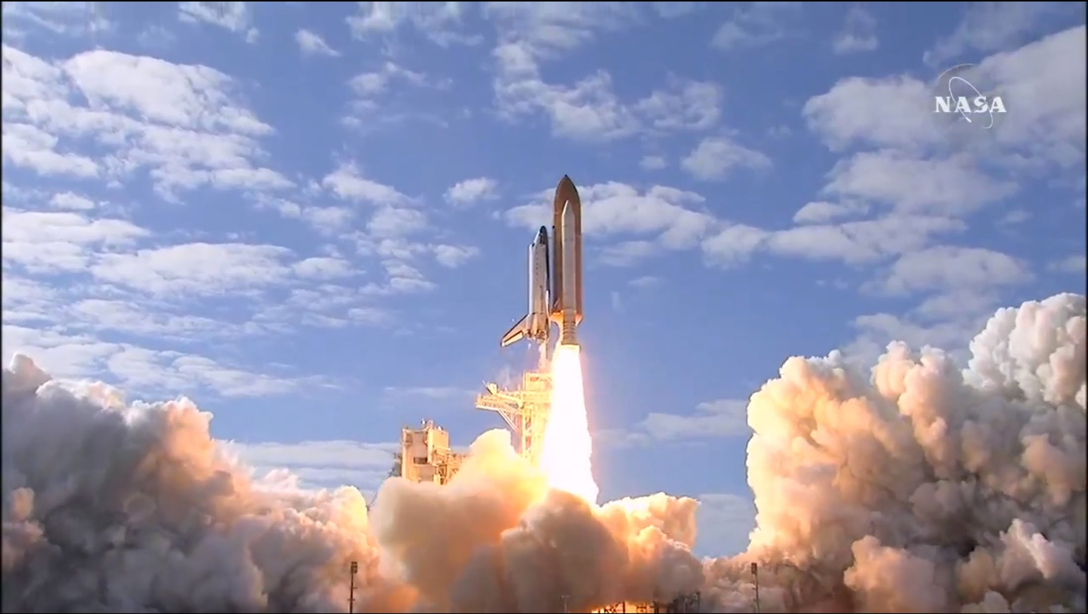 Space Shuttle Launch NASA Atlantis to the International Space ...