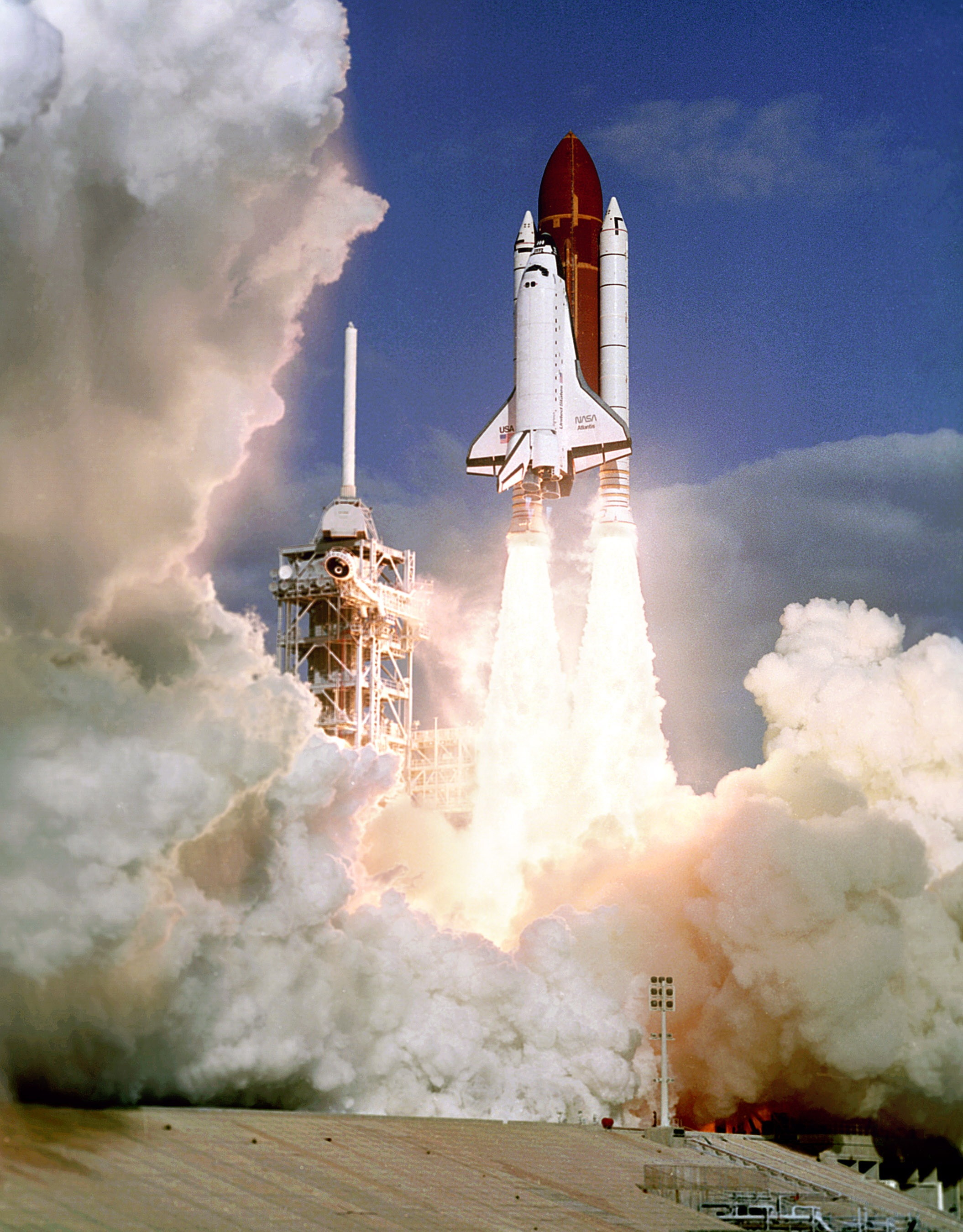 Space Shuttle Launch, Atlantis, Launch, Liftoff, Nasa, HQ Photo