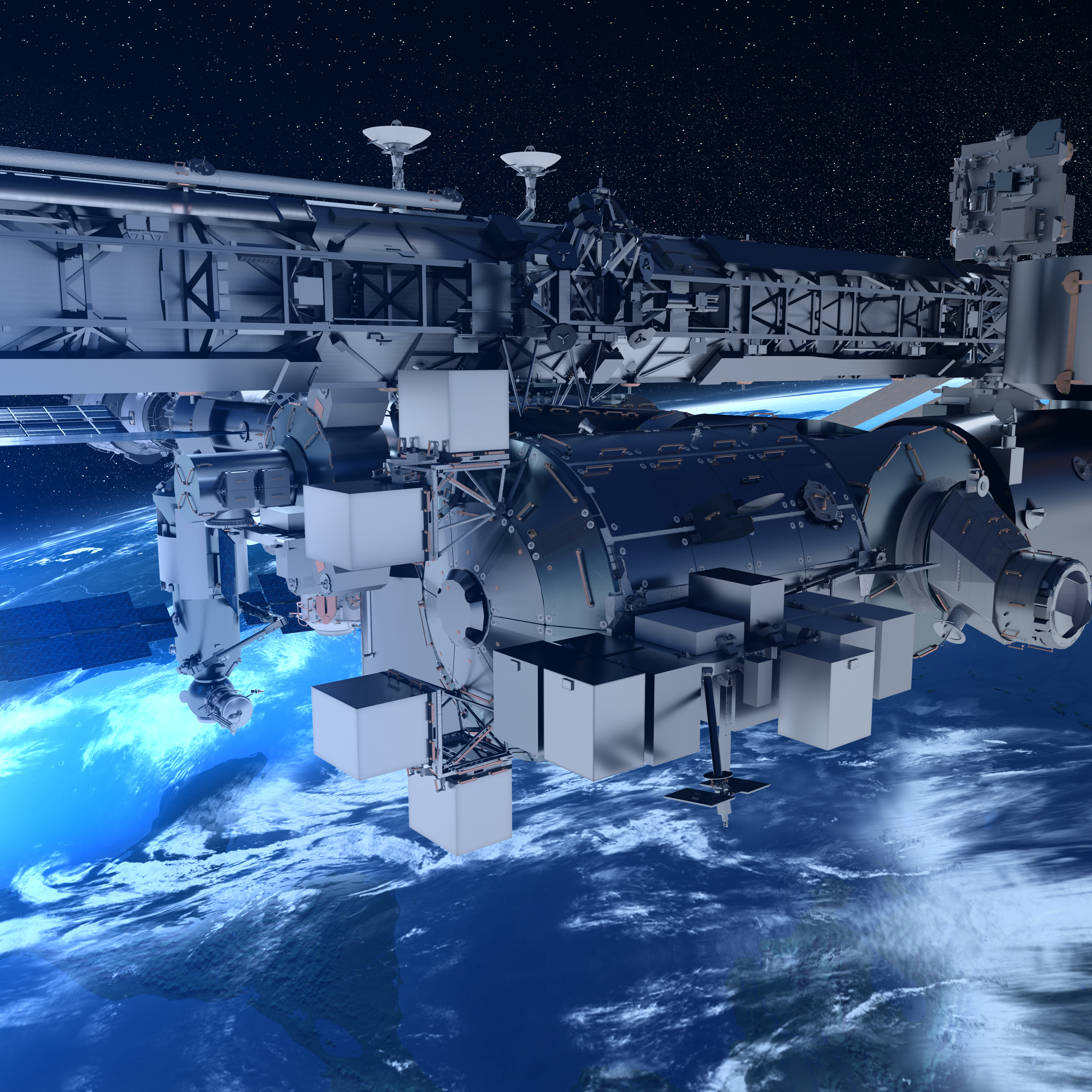 All-in-one service for the Space Station / Columbus / Human ...