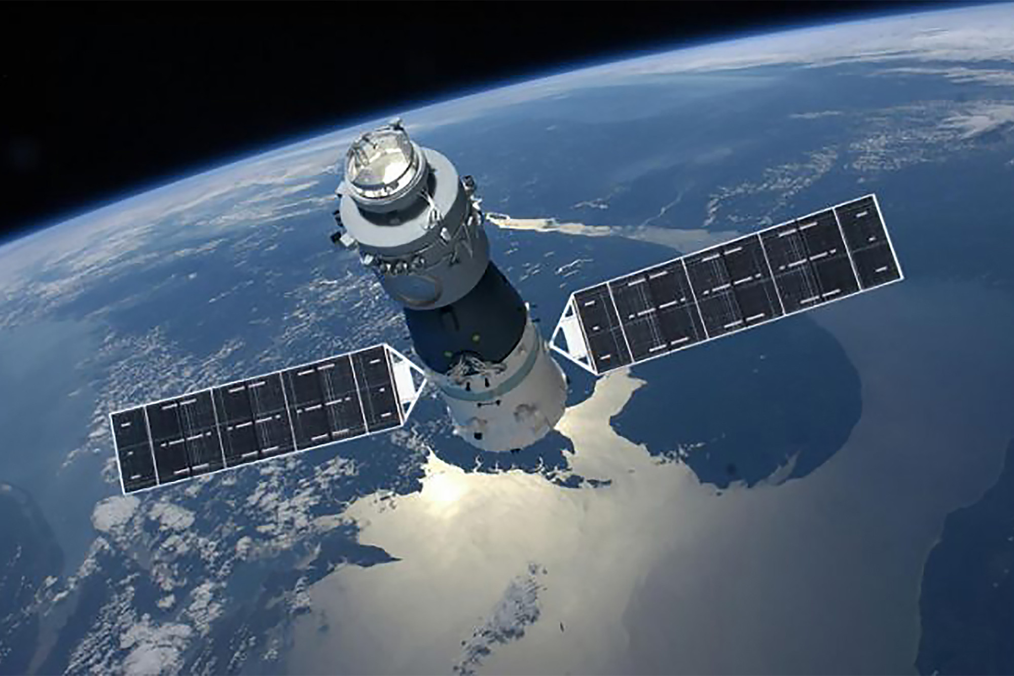 China's first space station burns up over the South Pacific