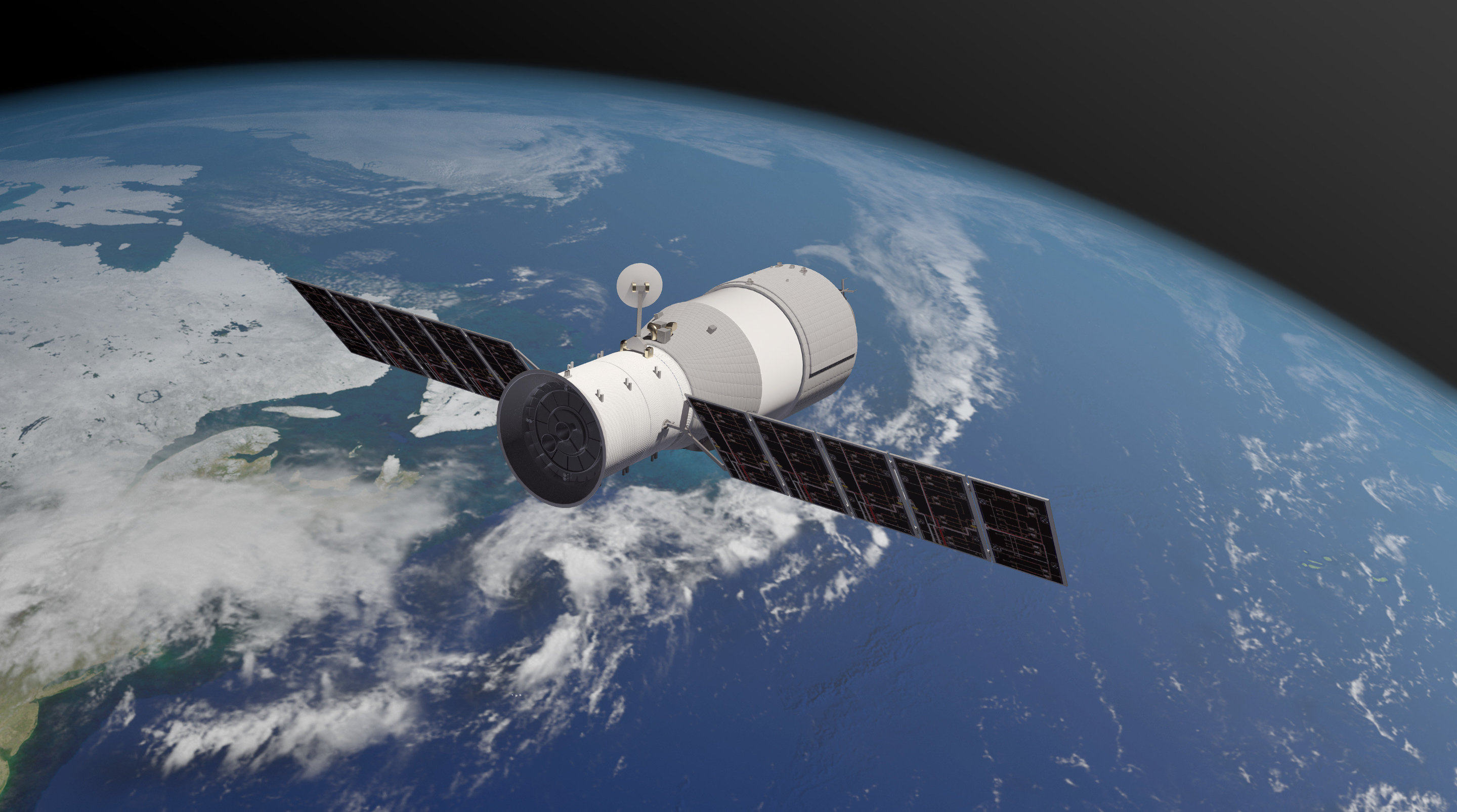 With China's space station about to crash land, who's responsible if ...