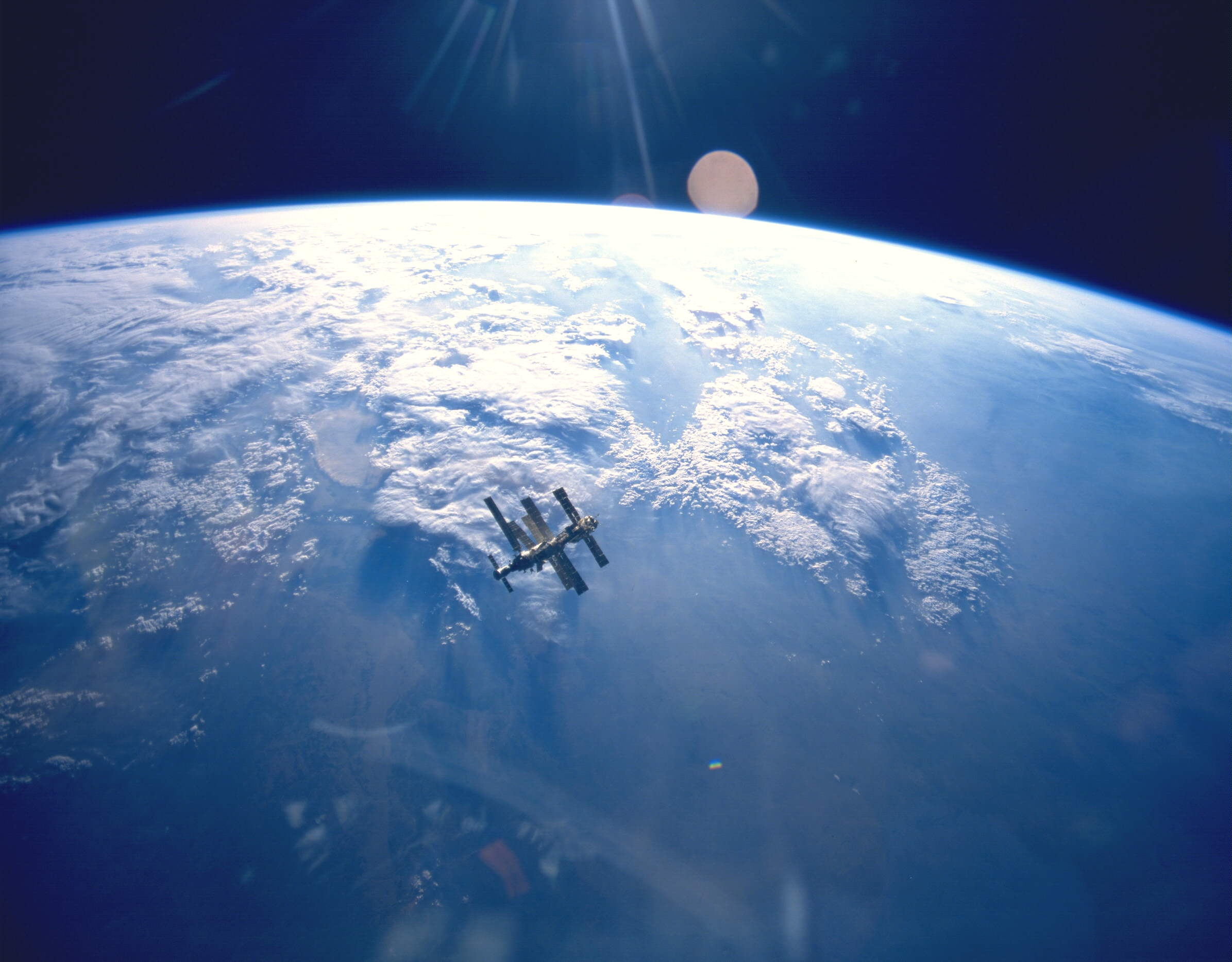 Space Station, Earth, Gravity, Height, High, HQ Photo