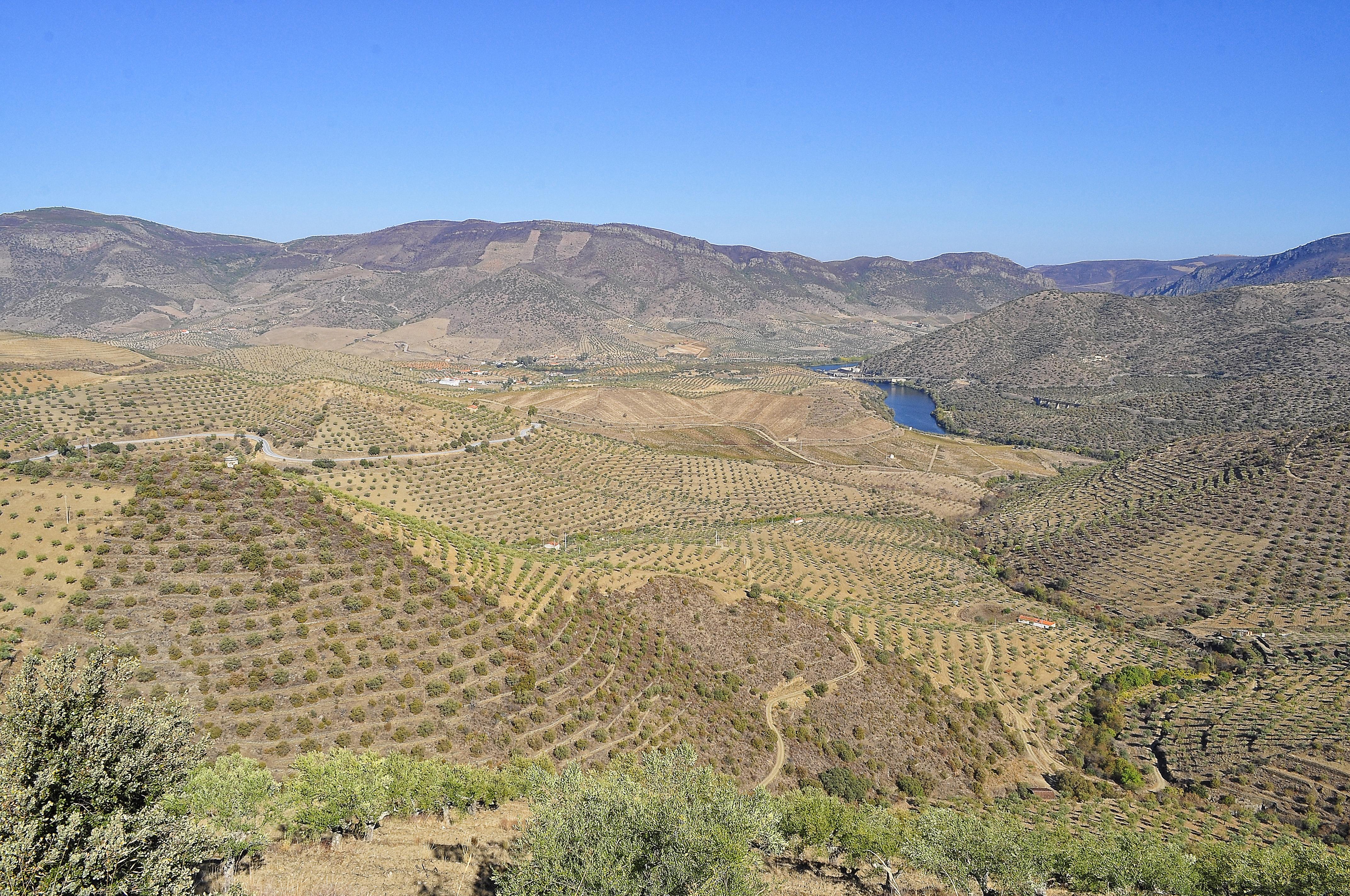 Spain border portugal photo