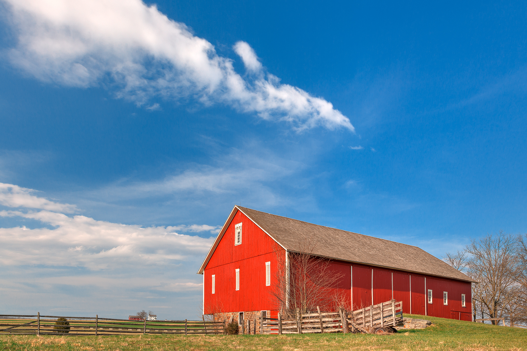 Spangler house farm - hdr photo