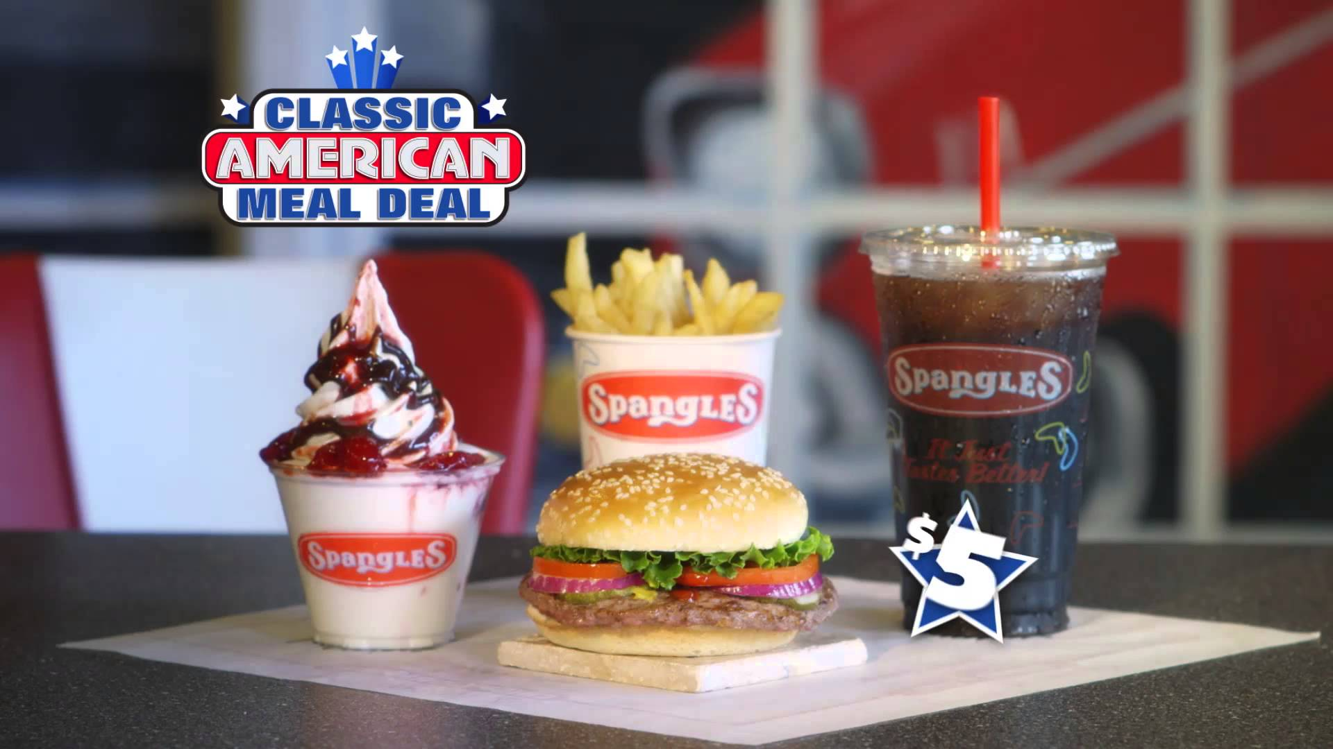 Spangles $5 Classic American Meal Deal Testimonial Commercial v2 ...