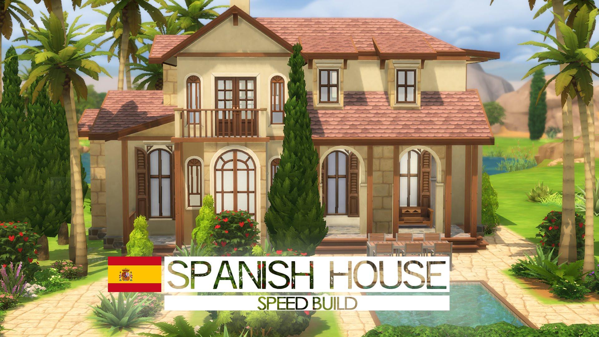 Spanish building facade photo