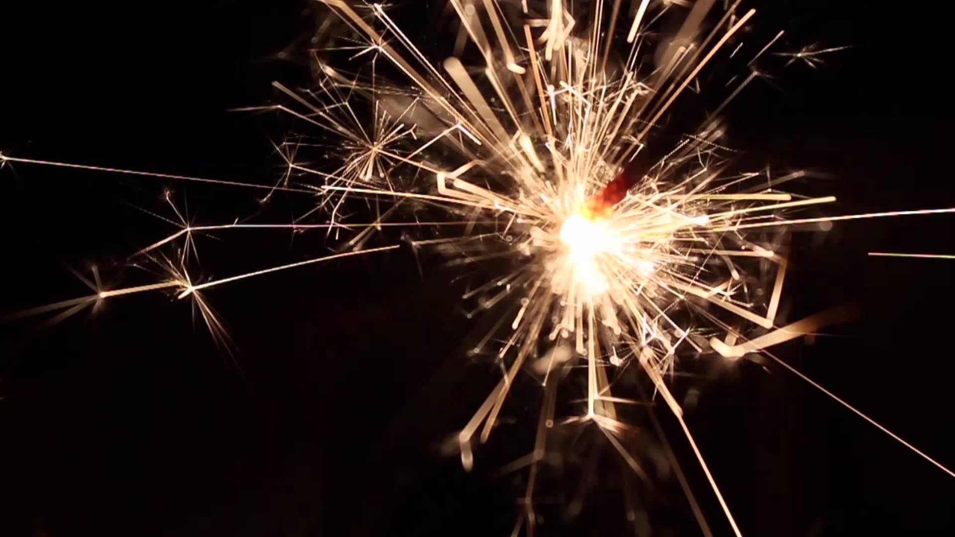 Burning Bengal Lights Sparkler 15 - free HD vfx - YouTube