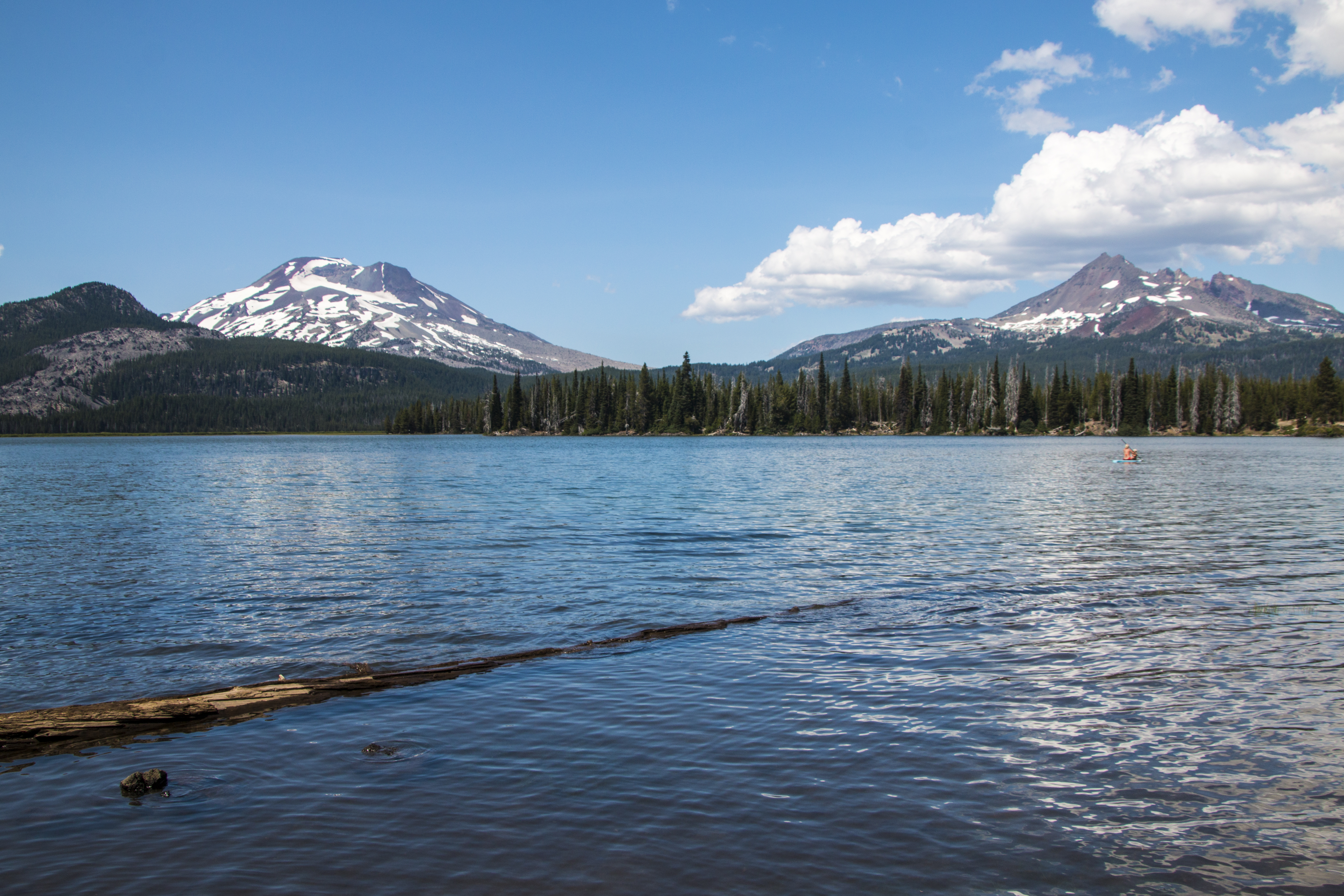 Sparks lake, oregon photo