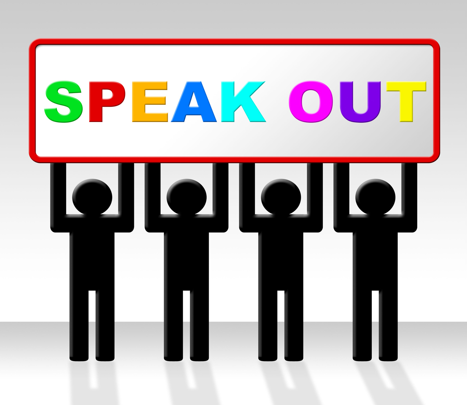 Speak Out Indicates Say Your Mind And Attention, Announcement, Announcing, Attention, Communication, HQ Photo