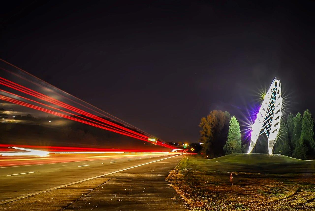 Speed of light, Abstract, Shiny, Multiple, Night, HQ Photo