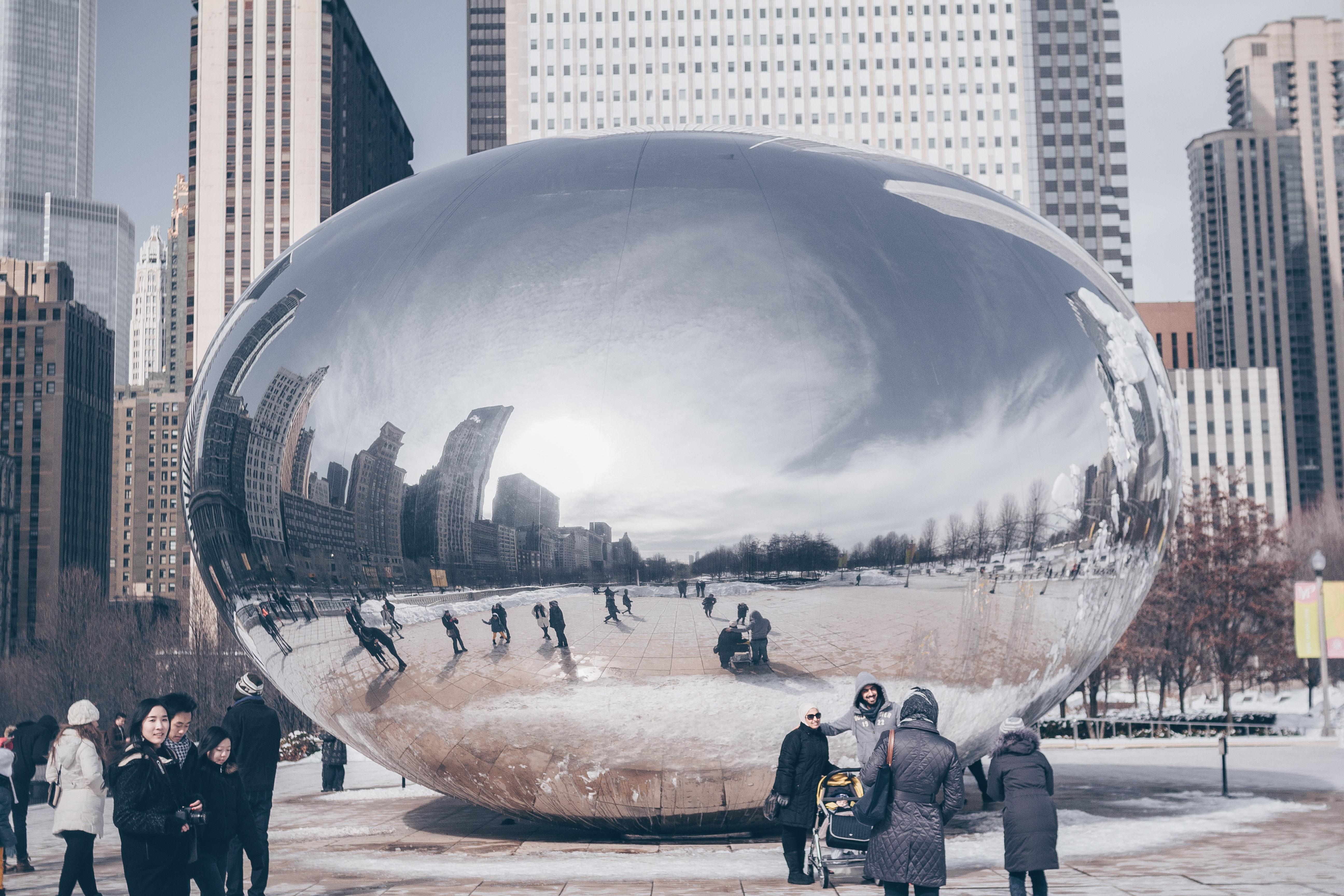 Sphere shape structure photo