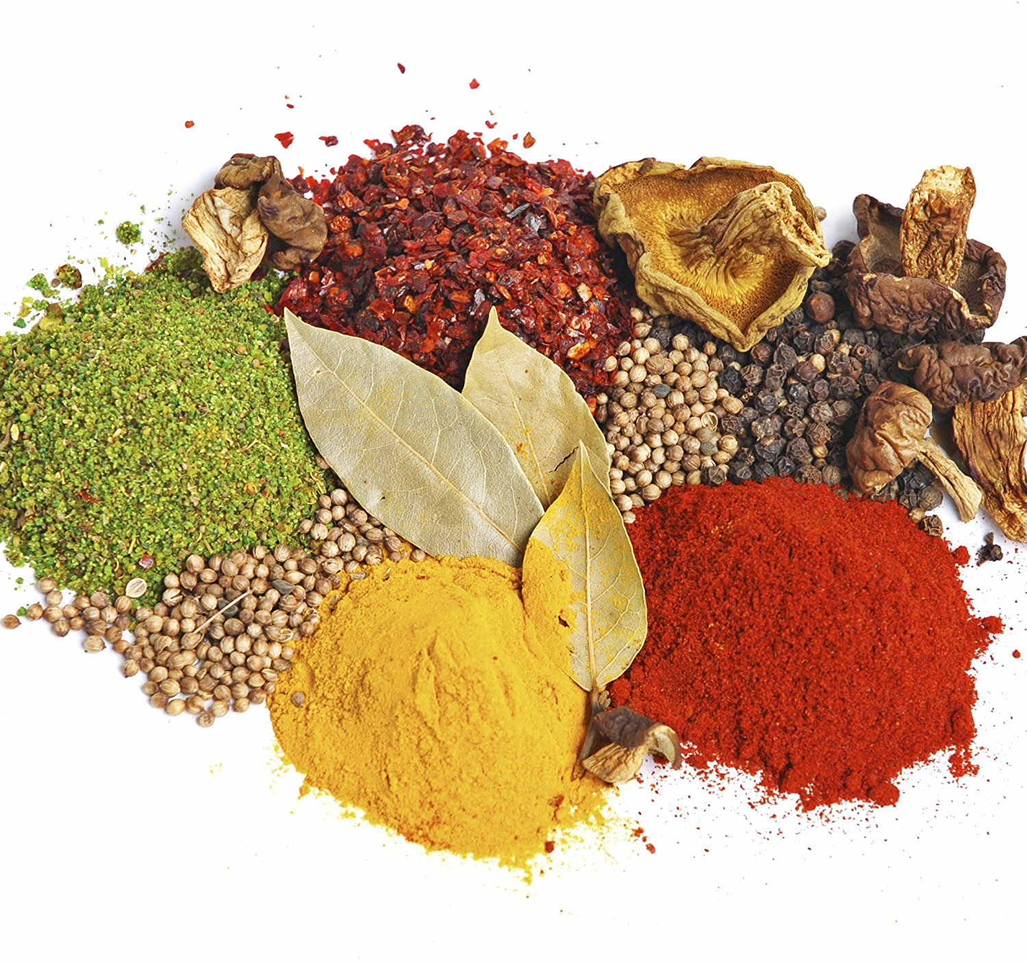 Amazon.com : Curry Spice Kit - 10 Authentic Spices Refill + A FREE ...