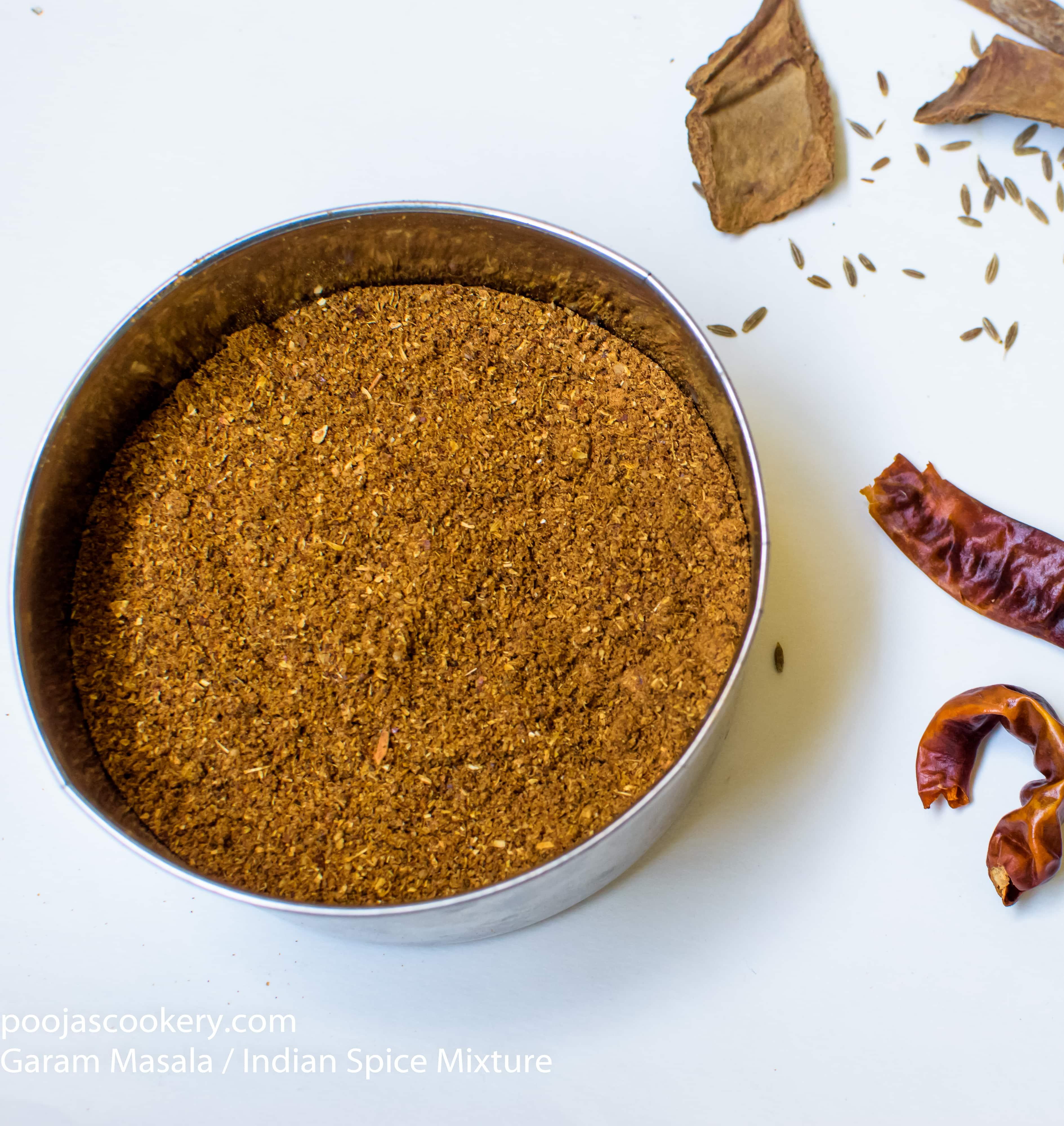 Spice mixture photo