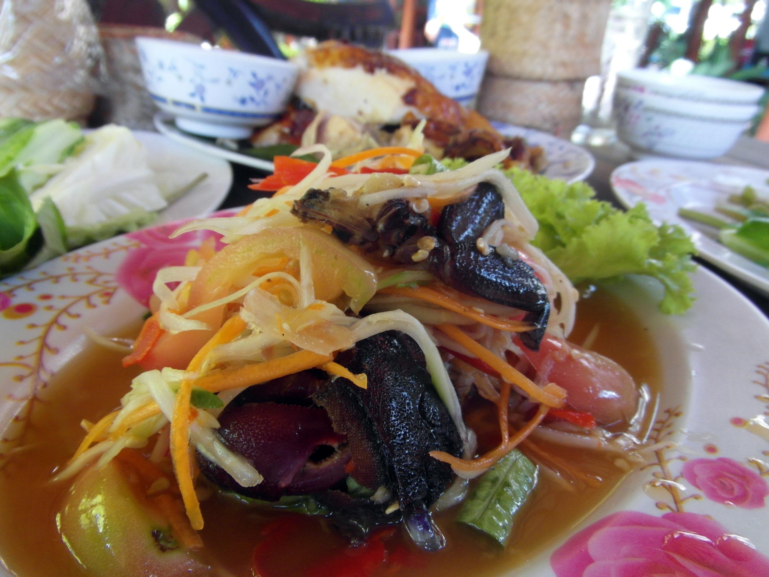 Spicy Asian Salad, Asia, Papaya, Thailand, Thai, HQ Photo