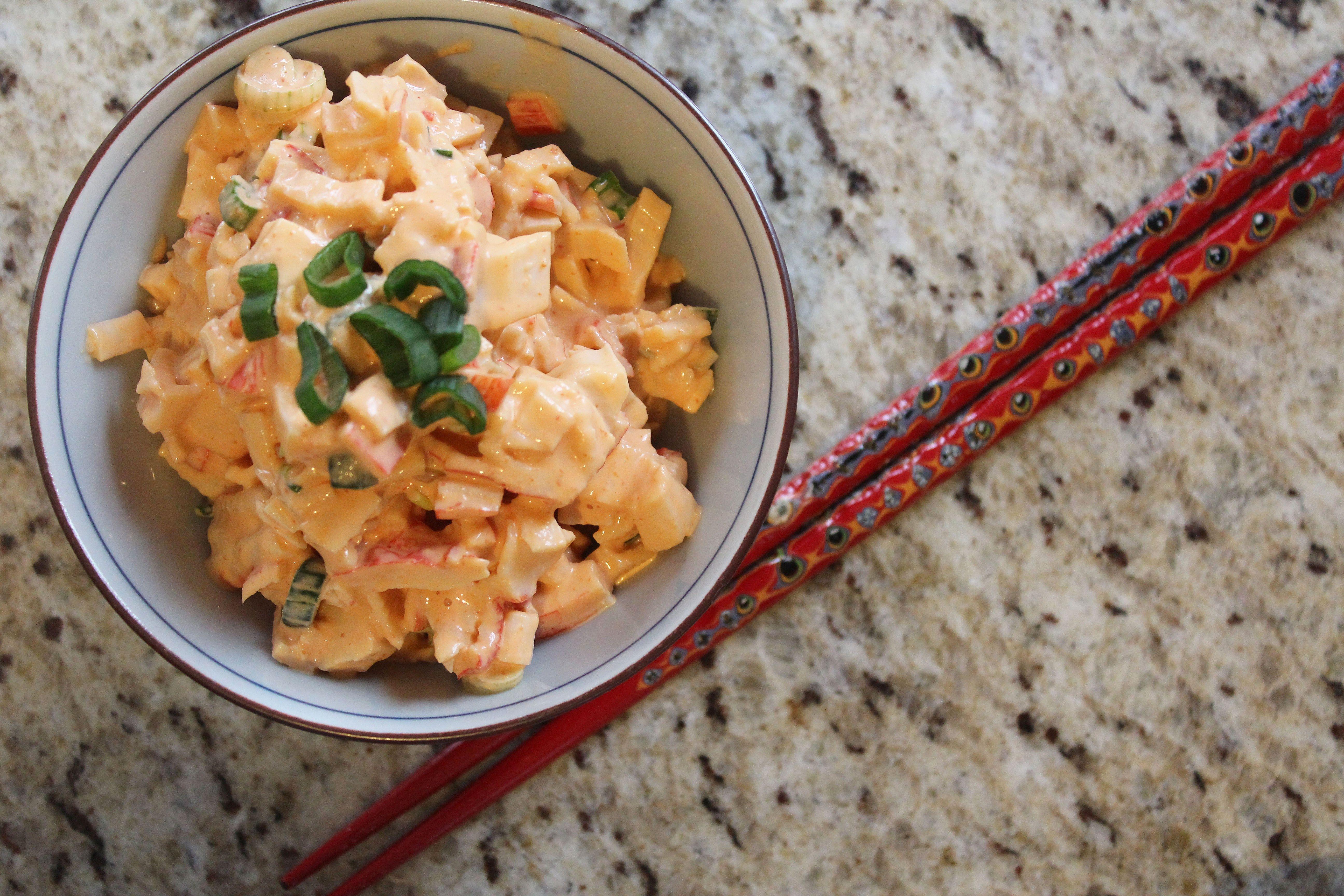 Spicy Crab Salad | Recipe | Crab salad, Salads and Crab rolls