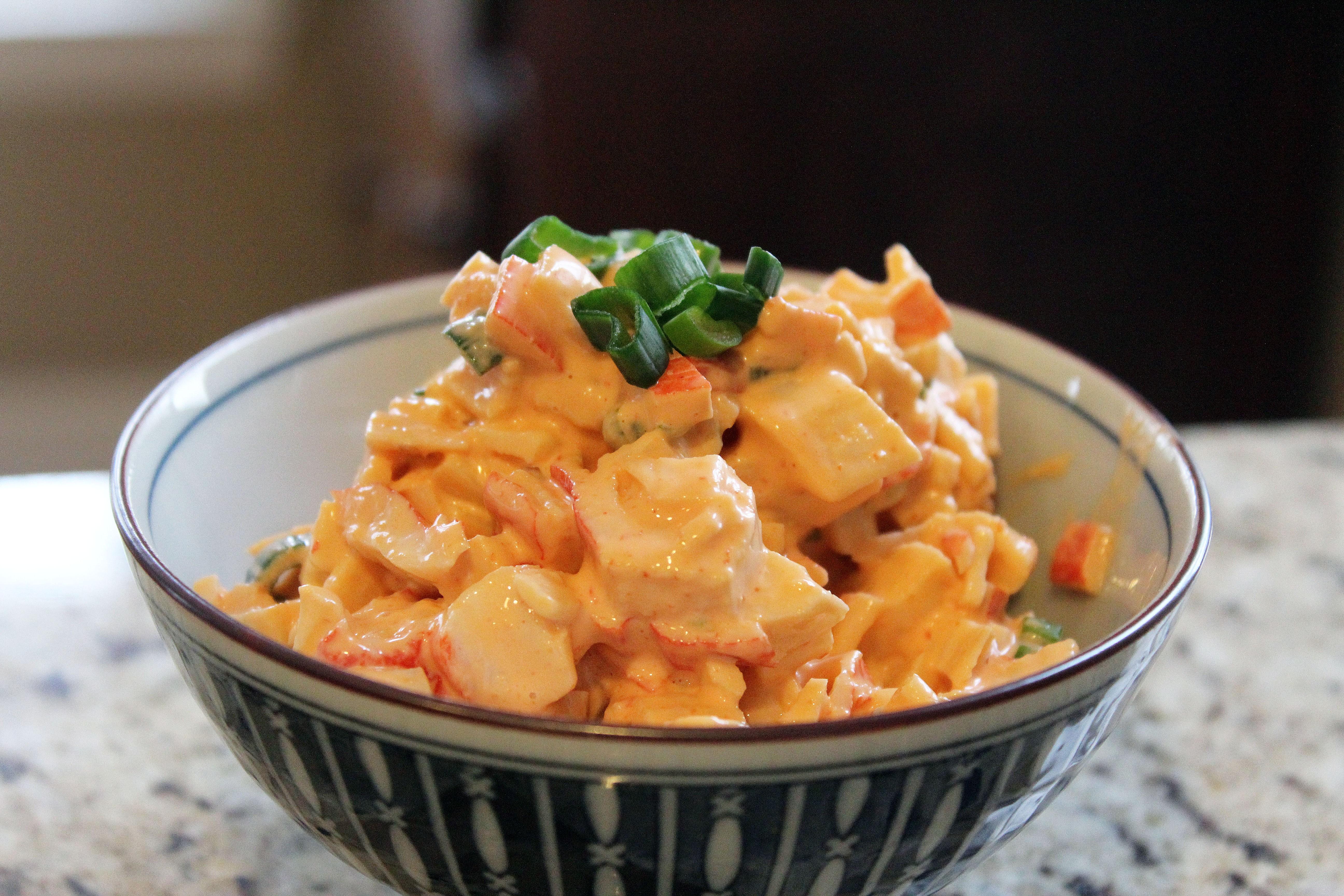 Spicy Crab Salad – Recipesbnb