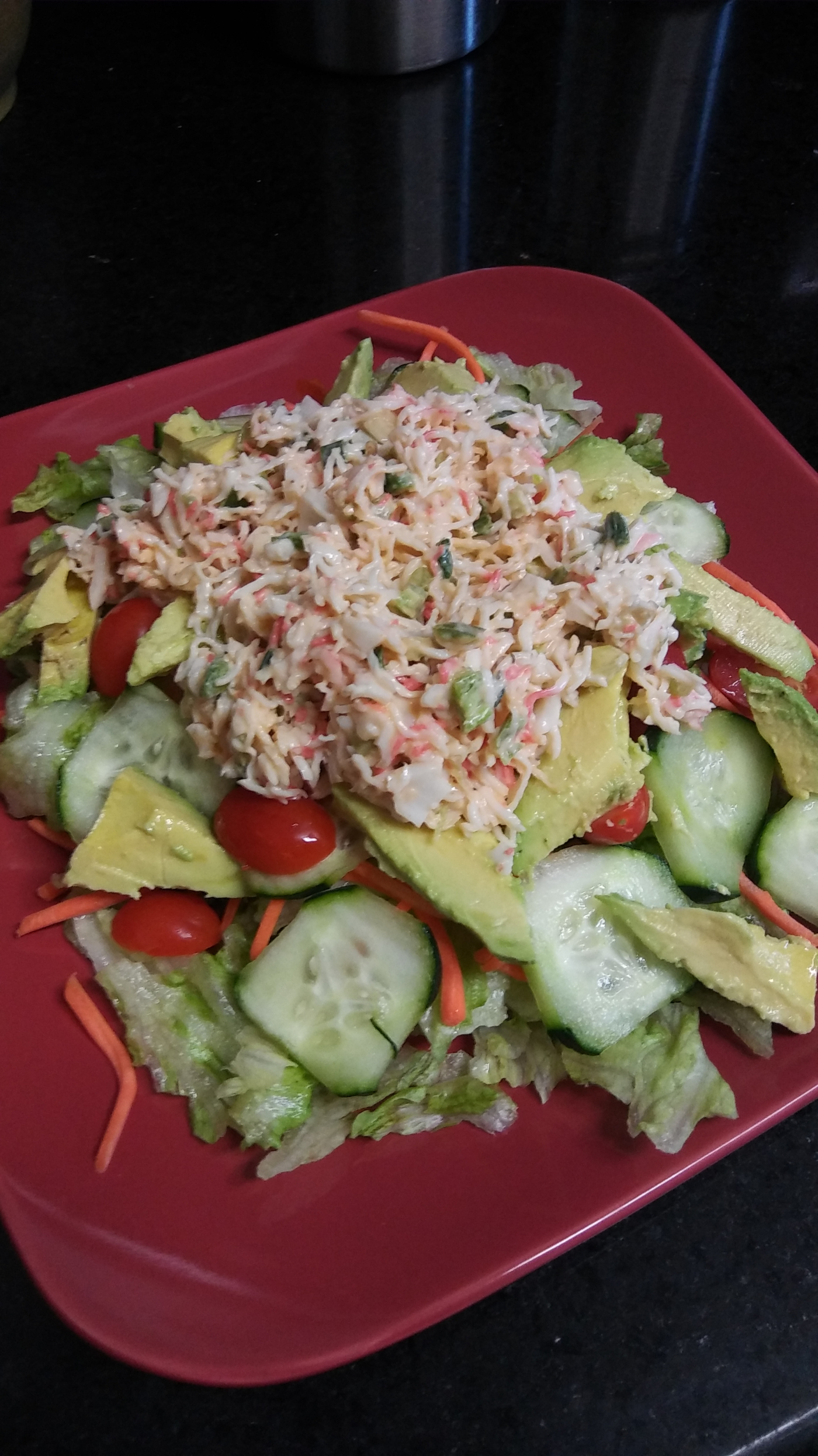 Spicy Crab Meat Salad – Wifi Mom's Kitchen