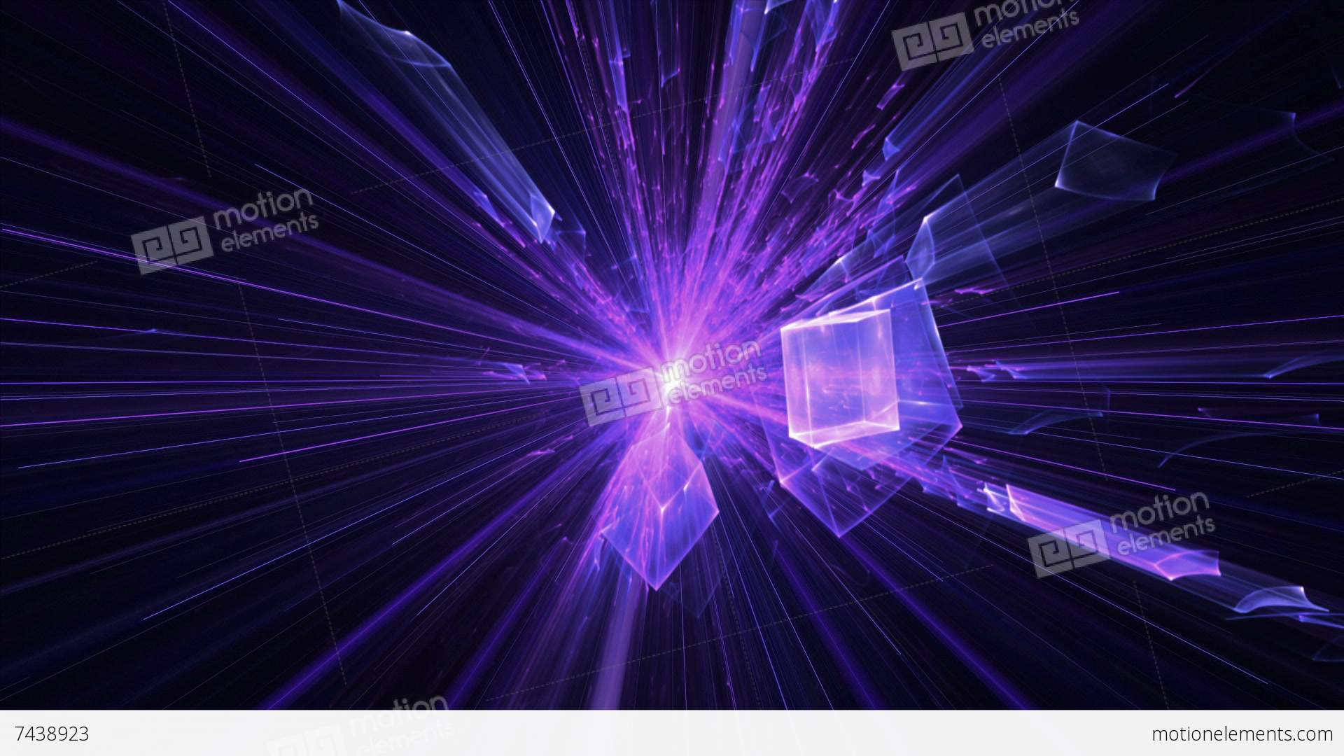 Violet And Purple Blast With Rays Of Light, Explosion Stock ...