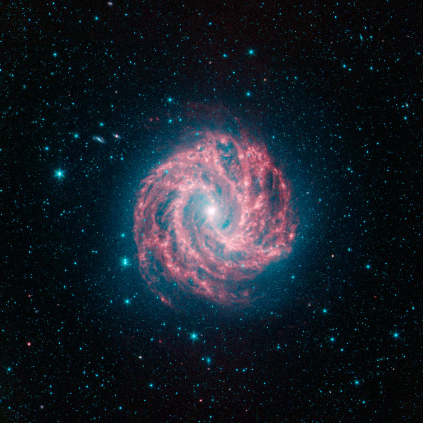 Spiral galaxy photo