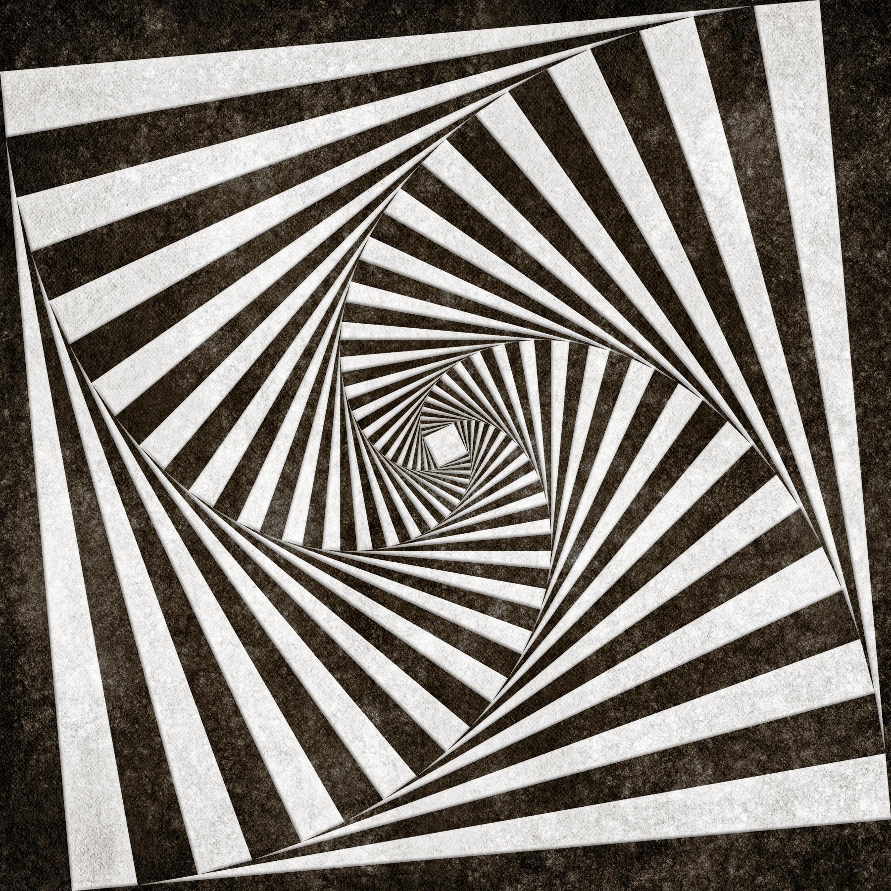 Spiral tunnel grunge photo
