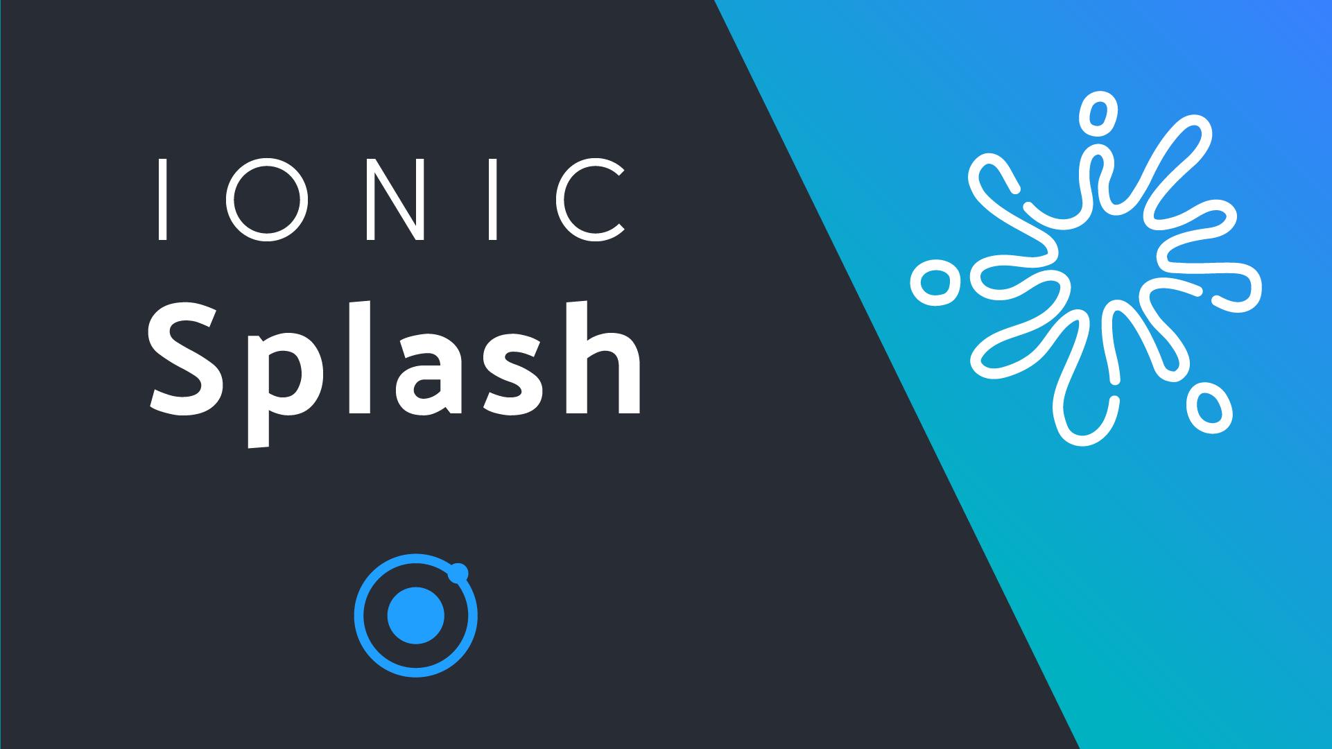 Ionic Splash Screen Animation | AngularFirebase