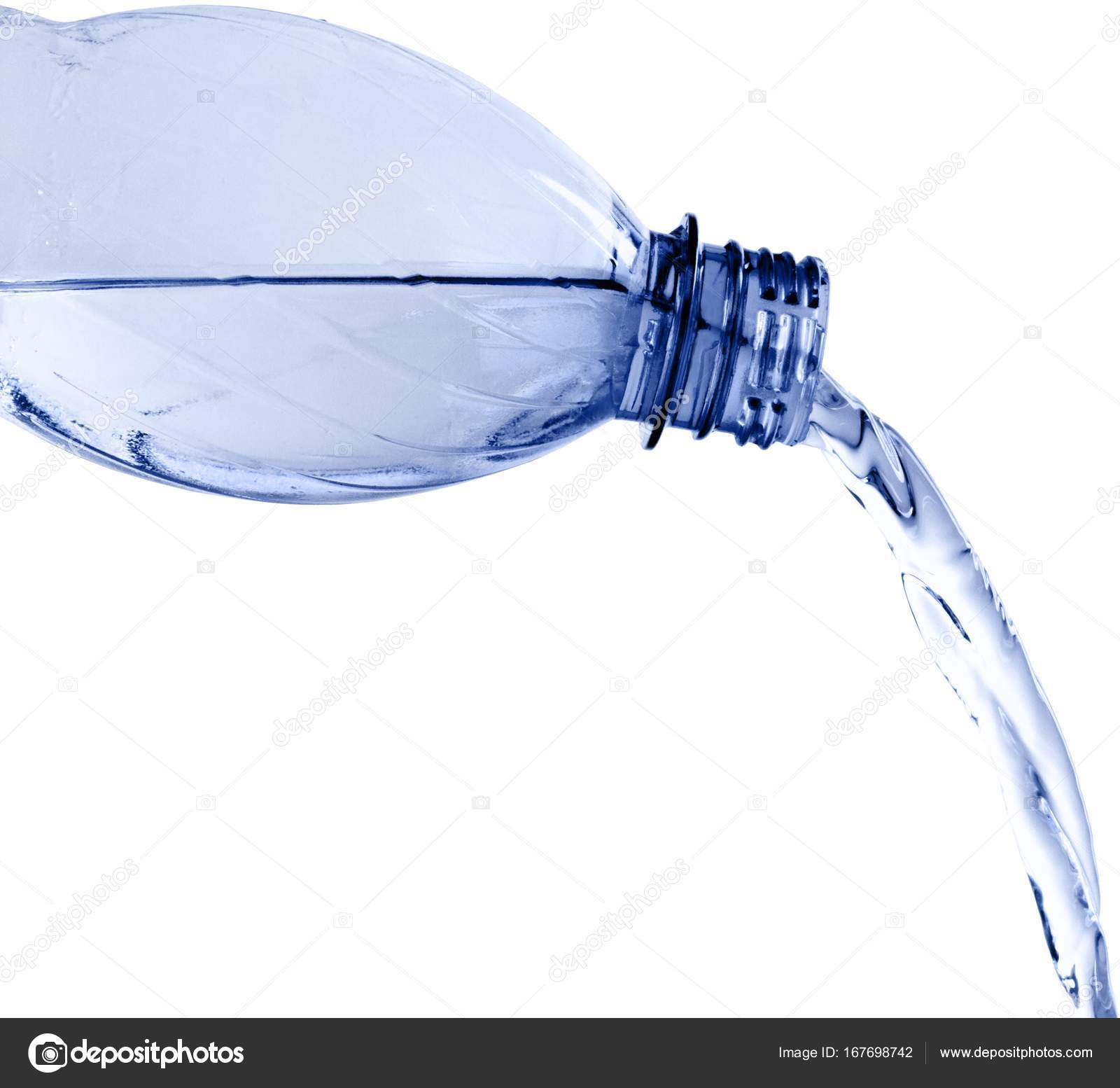 Water bottle splash — Stock Photo © billiondigital #167698742