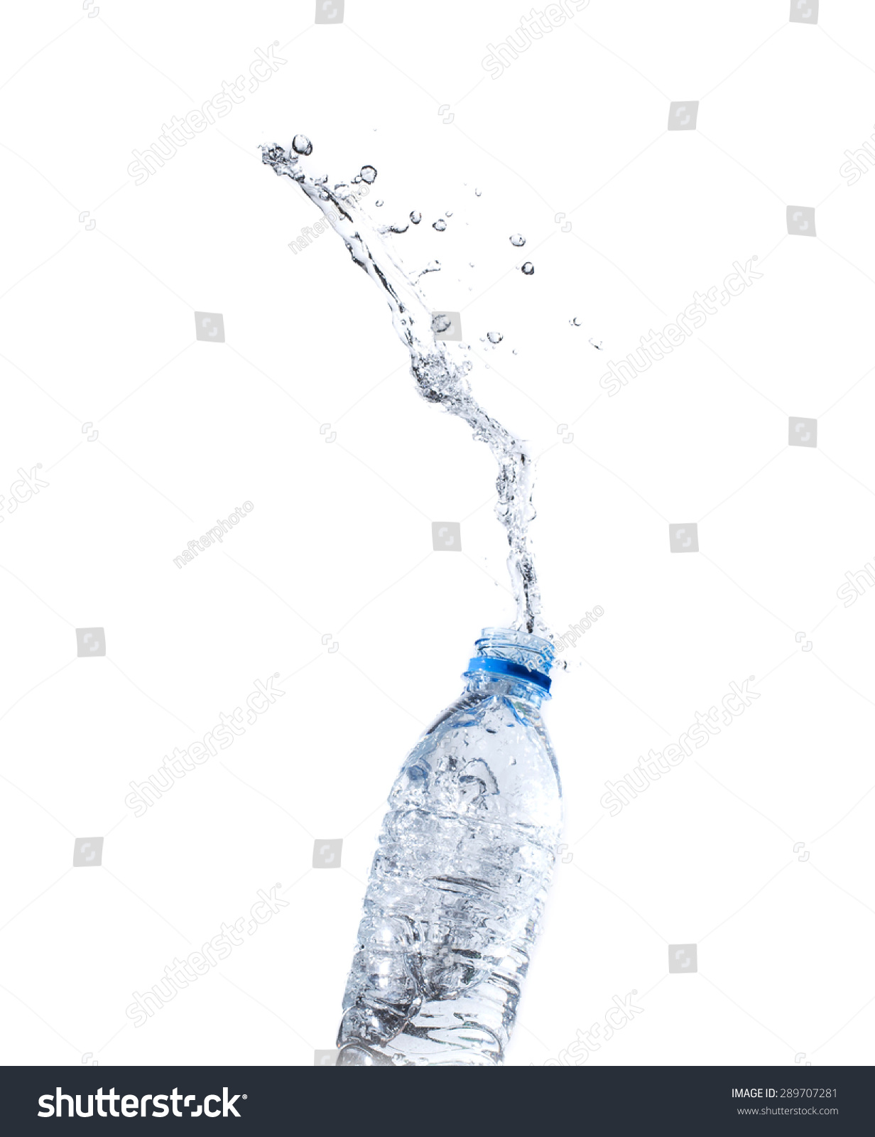 Water Splash Water Bottle Splash On Stock Photo (Royalty Free ...