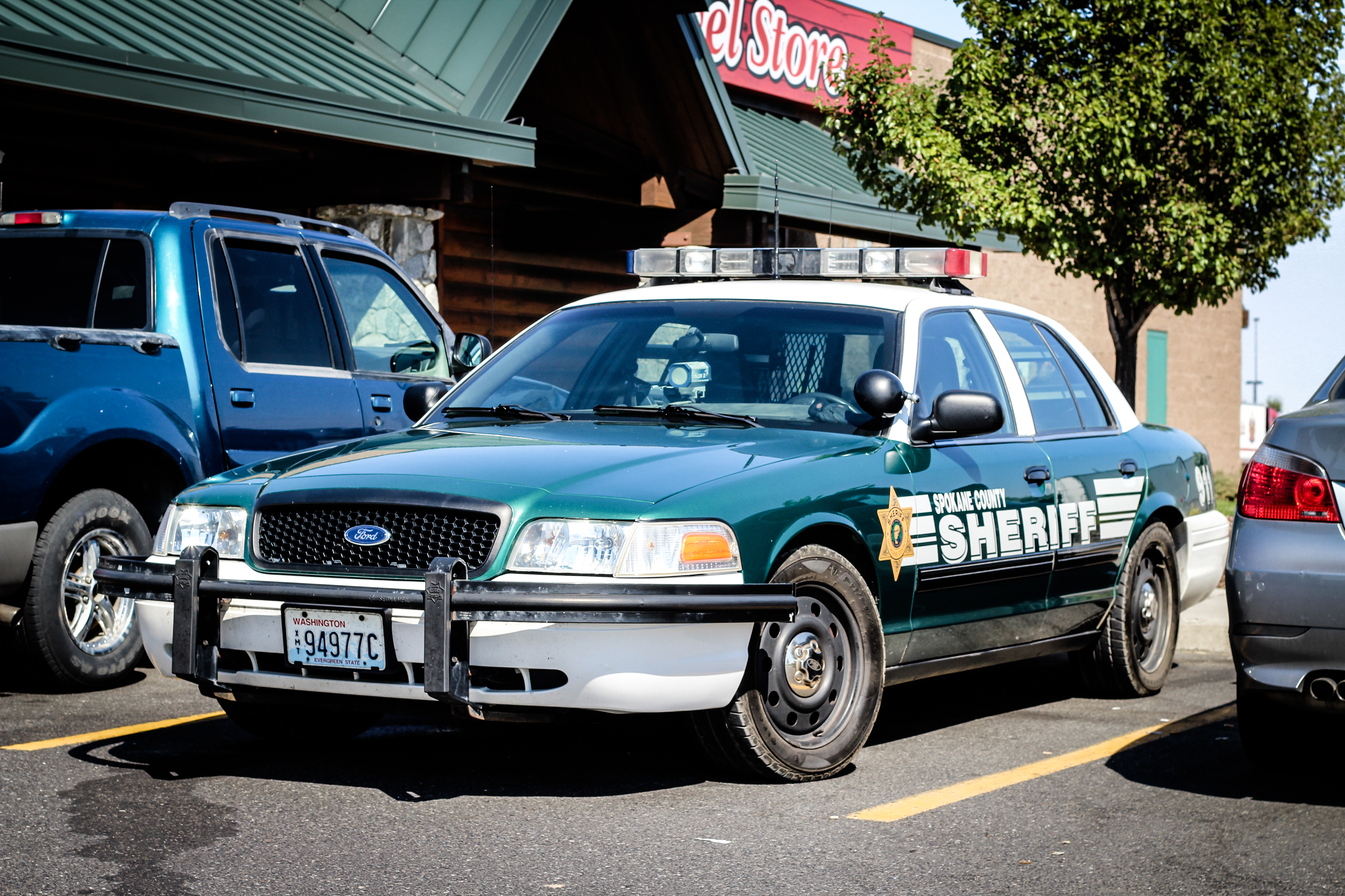 Spokane county sheriff photo