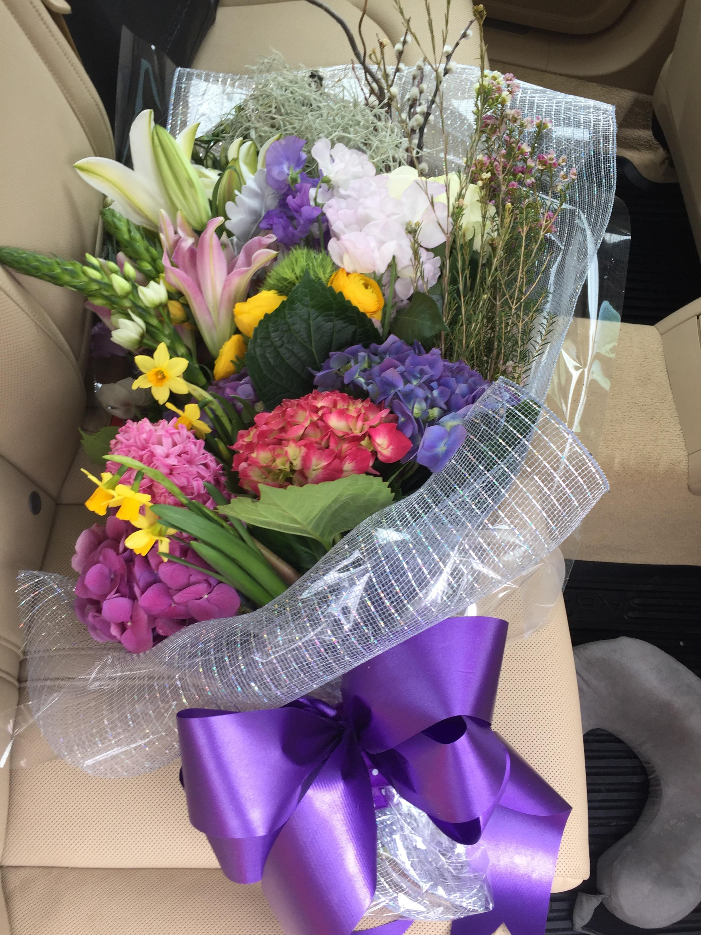 Spring Flower Bouquet in Hoboken, NJ | Beethoven's Veranda