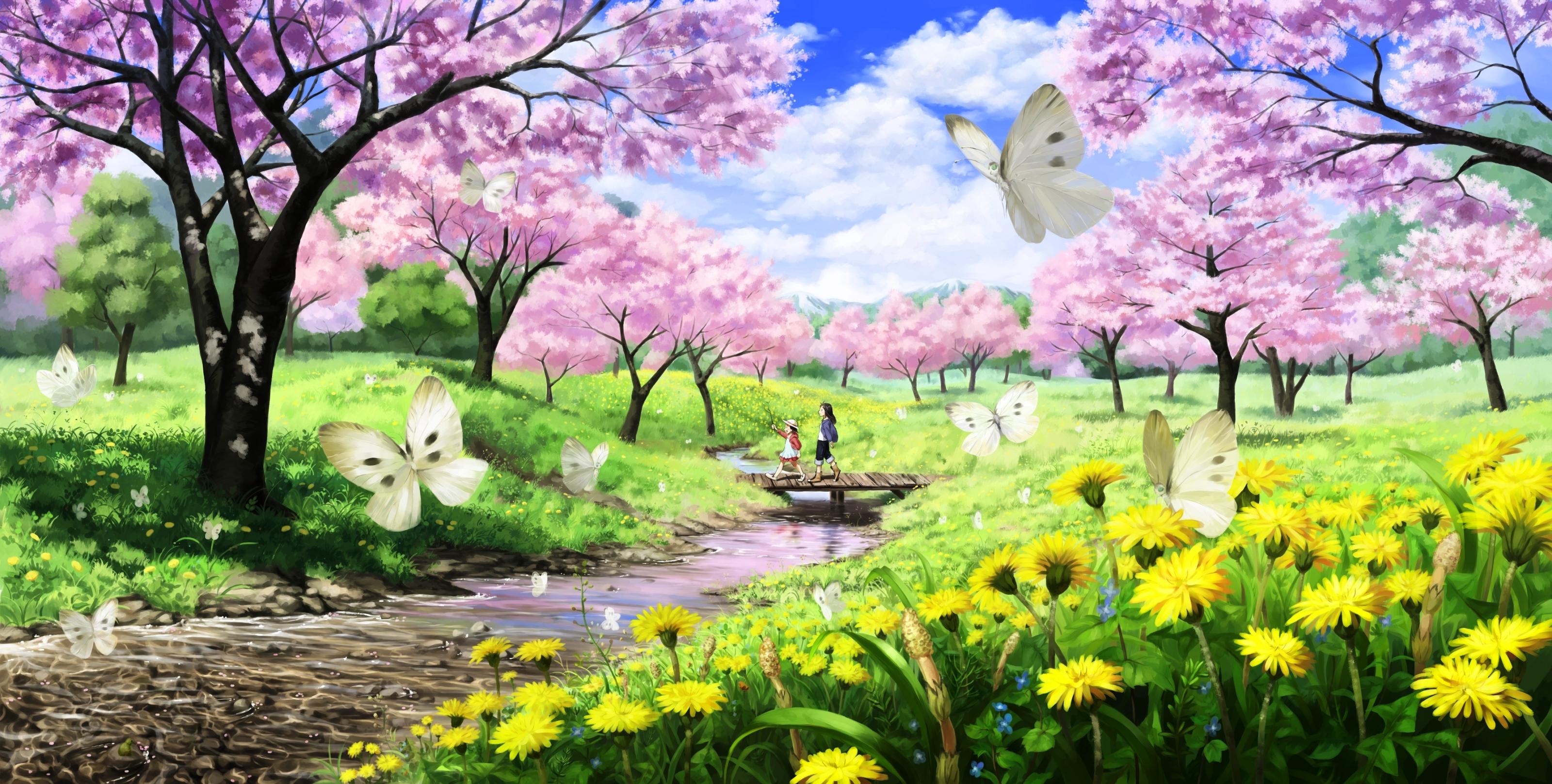 Free photo: Spring season - Bloom, Field, Flowers - Free Download