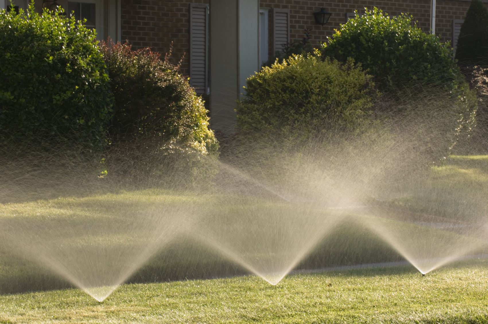 Salem and Keizer Lawn Sprinkler Systems - First Impressions Landscaping