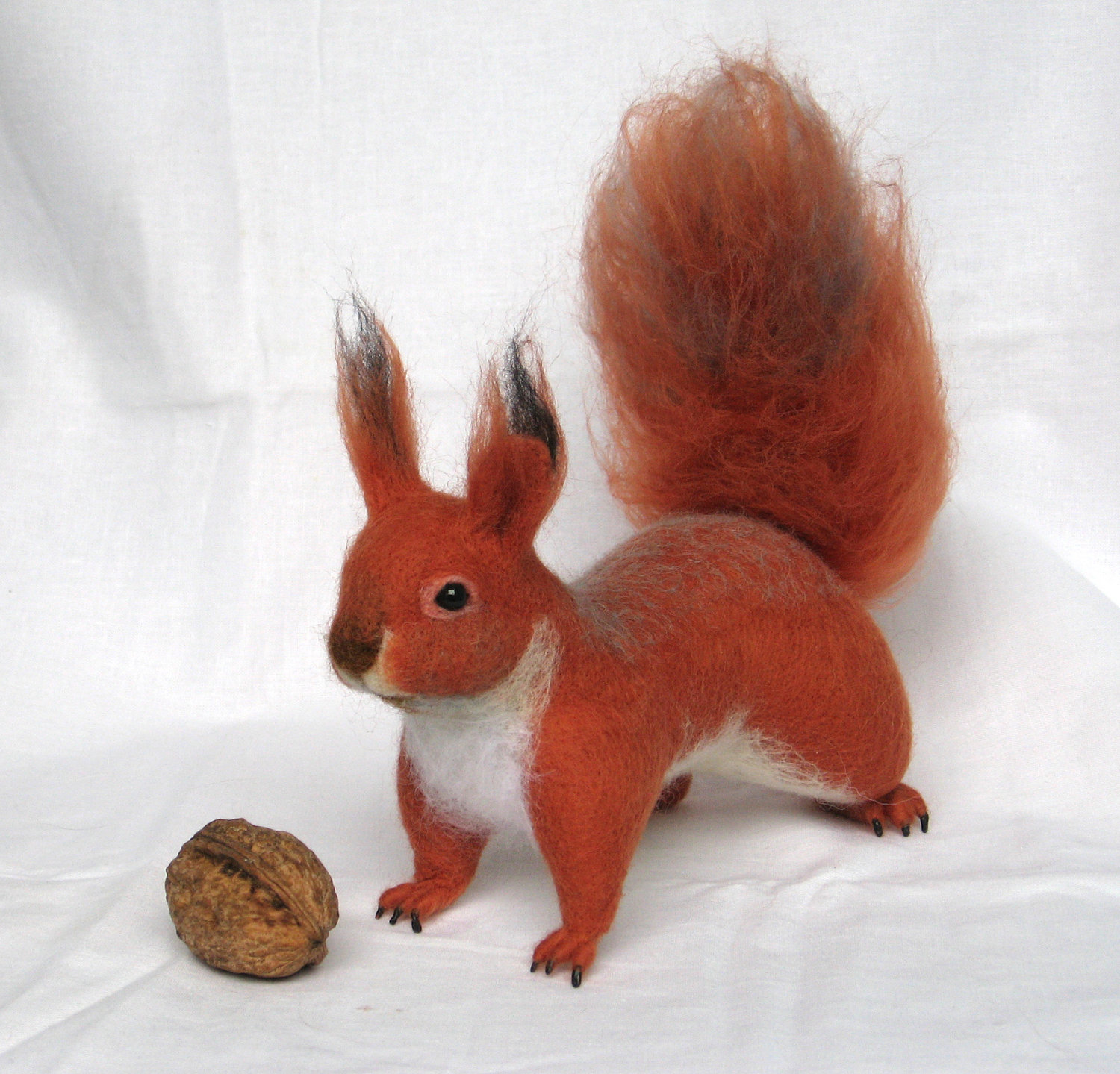 Felt toy Squirrel... I will make this item for