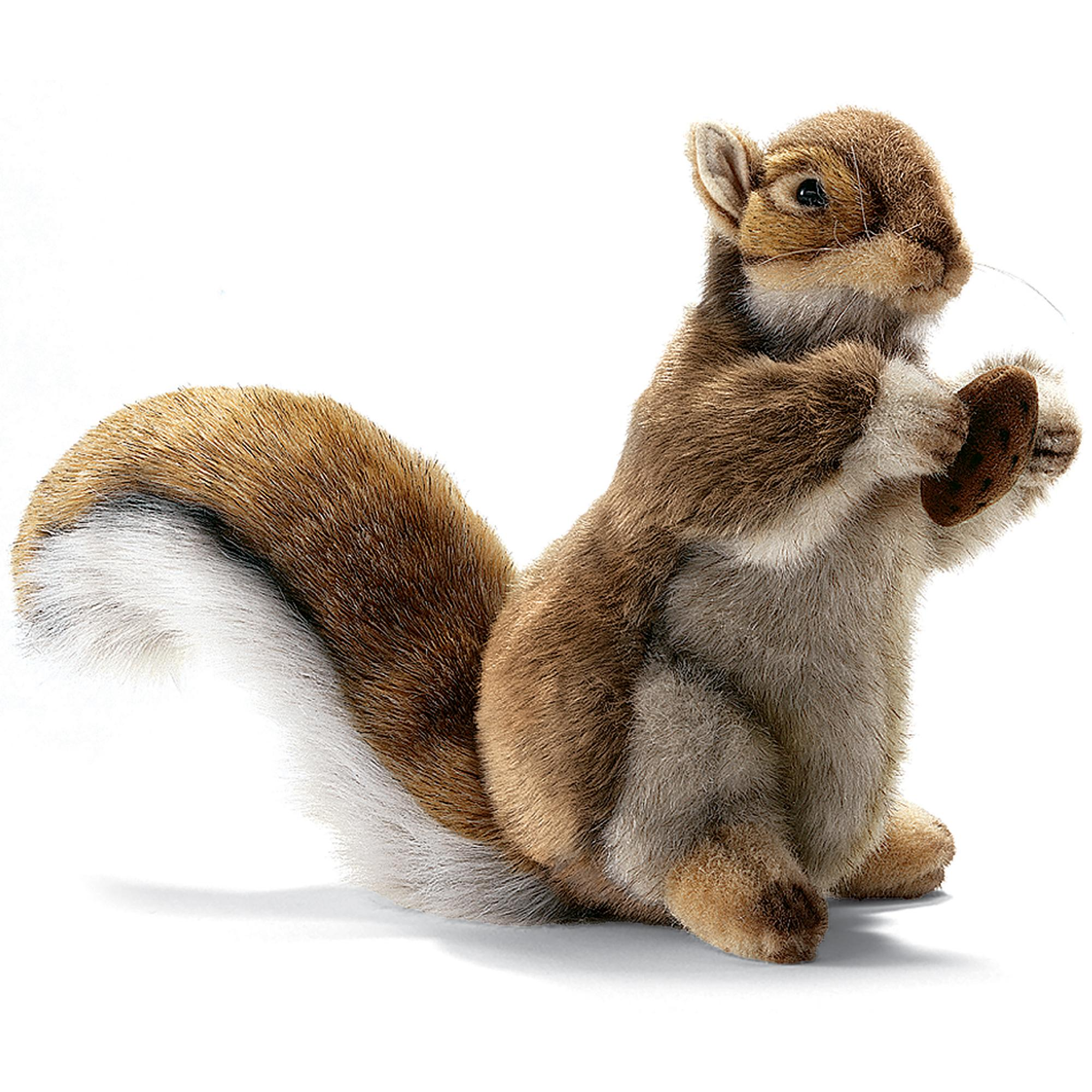 Hansa Toys Red Squirrel With Nut 22cm - £40.00 - Hamleys for Toys ...