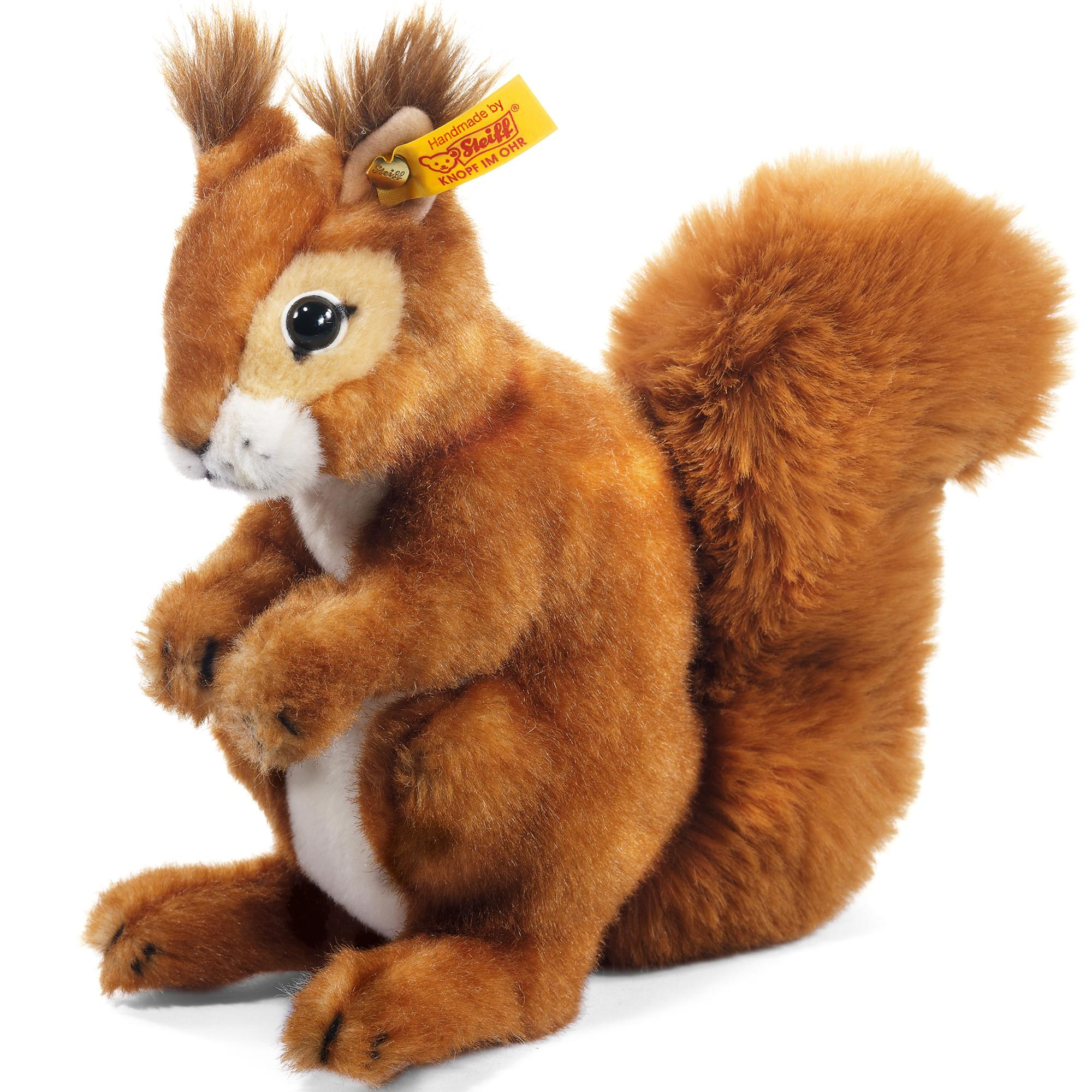 Steiff Niki Squirrel Soft Toy - £62.00 - Hamleys for Toys and Games
