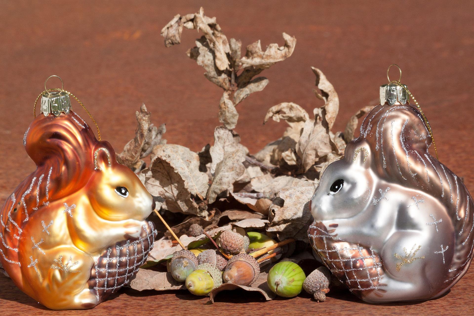 Squirrel Figure, Figure, Nut, Object, Squirrel, HQ Photo