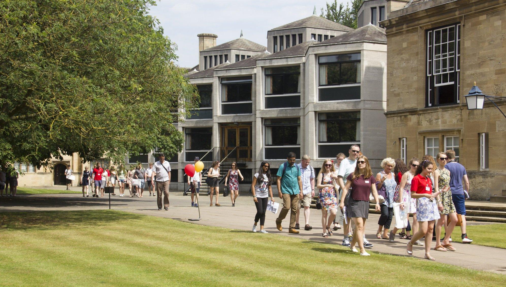 Open Days | St John's College, Oxford