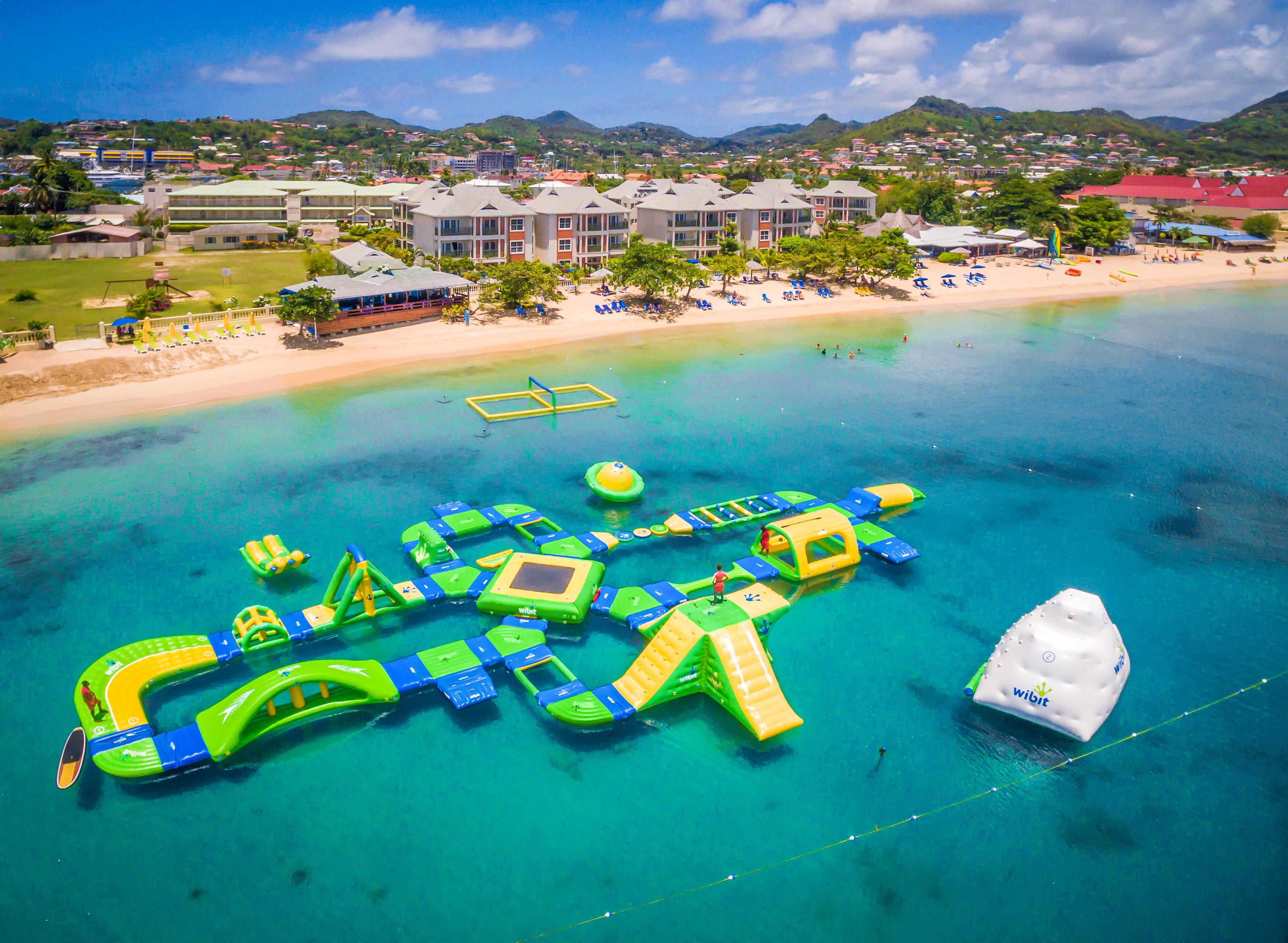 Splash Island Water Park St. Lucia | Home