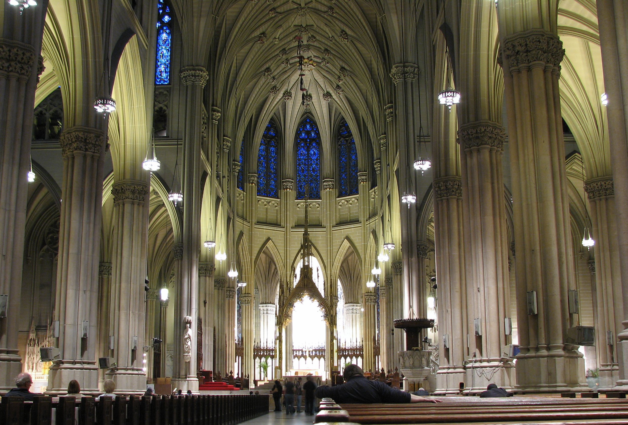 File:St Patrick's cathedral NY.jpg - Wikimedia Commons