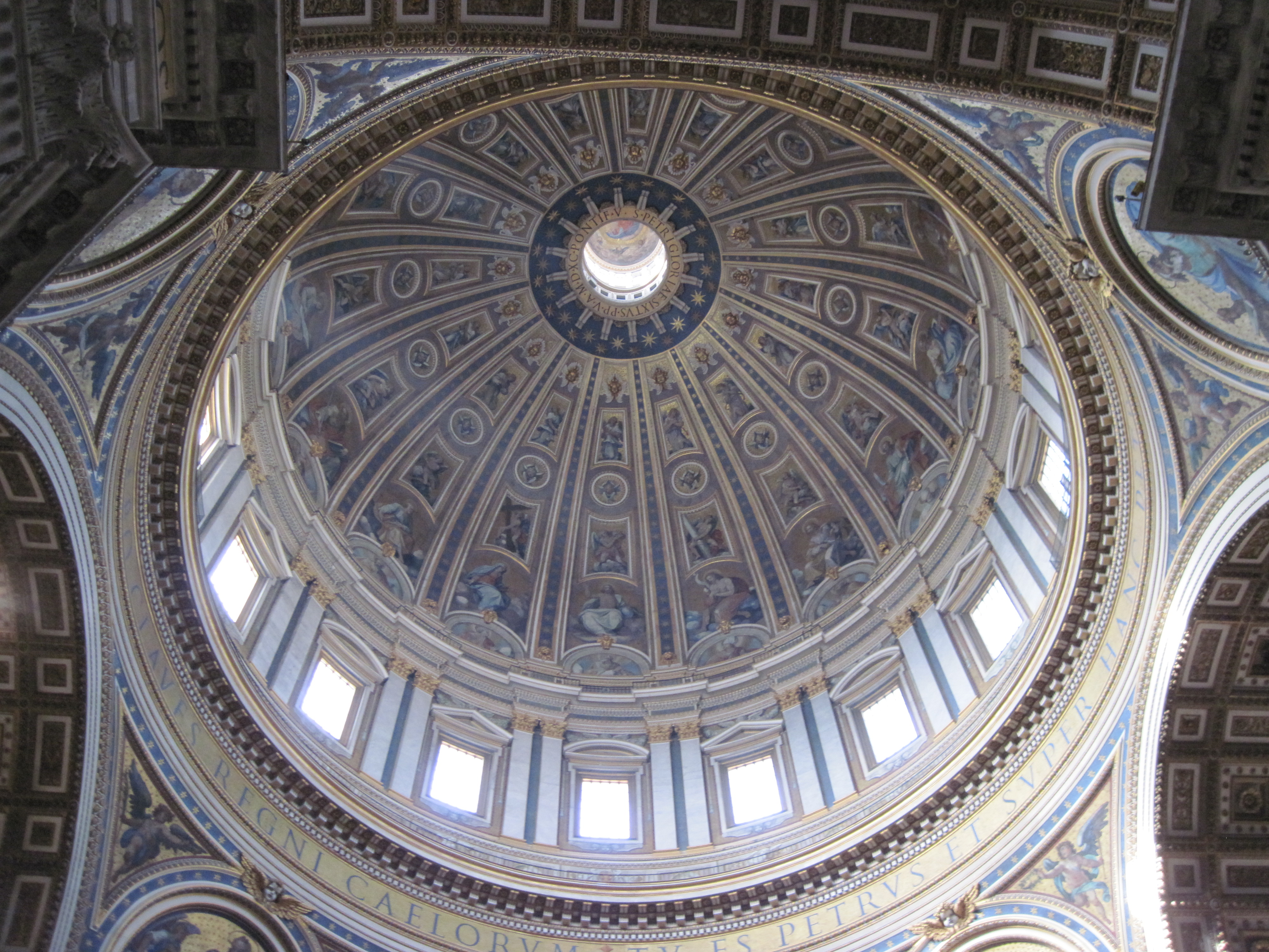 St peter's basilica dome photo
