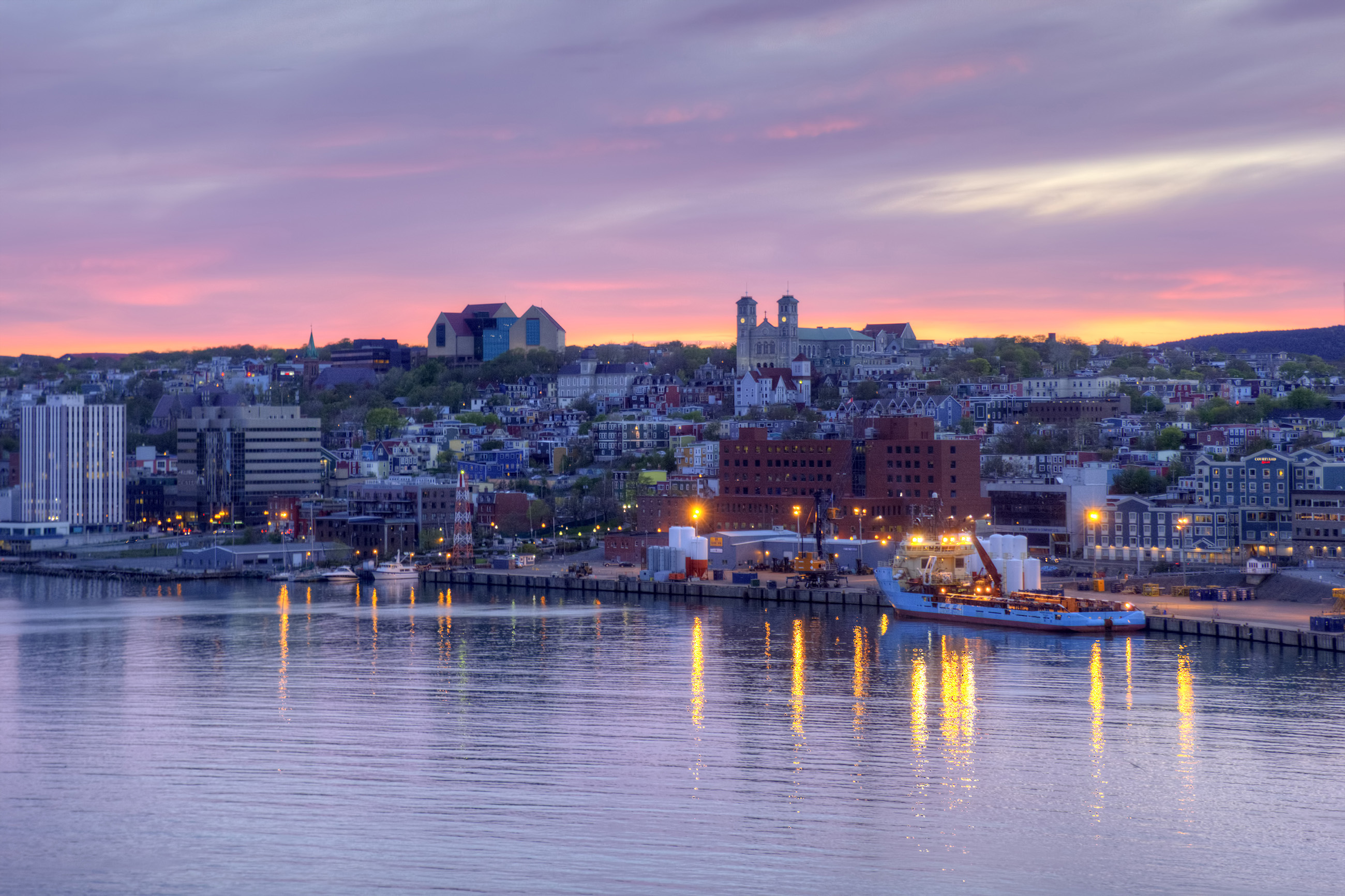St. John's, Atlantic, Maritime, Water, Travel, HQ Photo