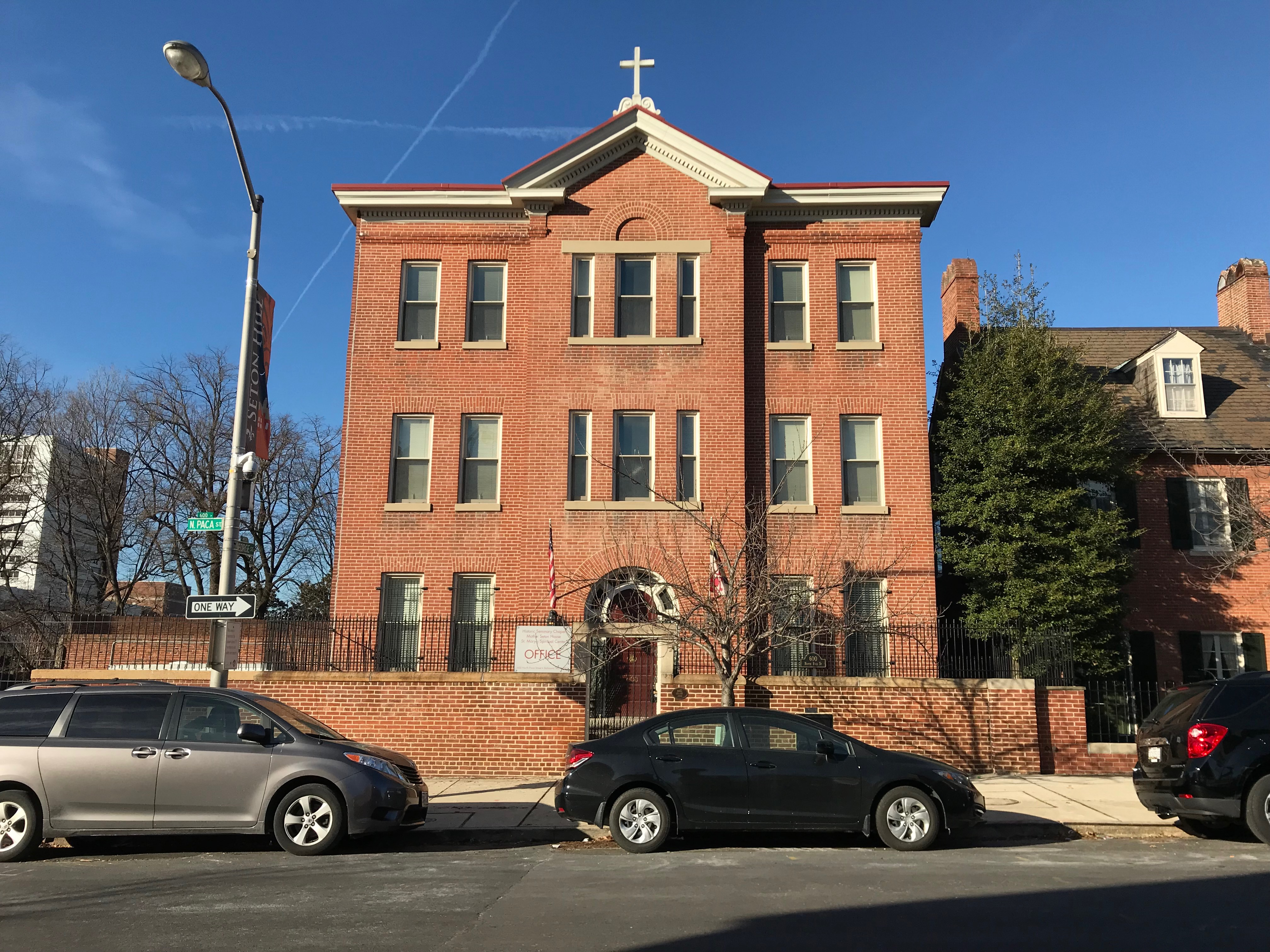 St. mary's spiritual center/former sisters of divine providence convent (1896), 600 n. paca street, baltimore, md 21201 photo
